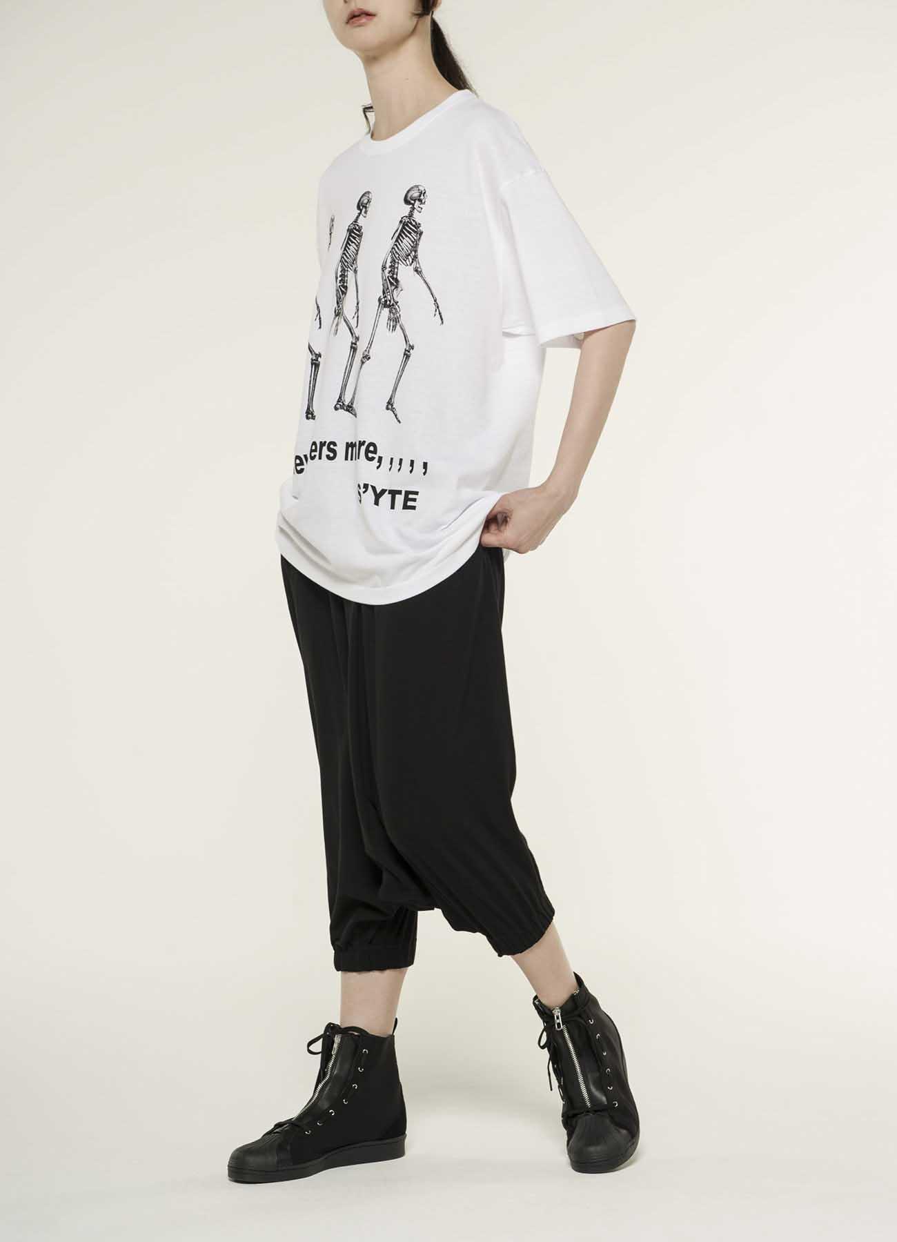 20/Cotton Jersey Skull walk T-shirt