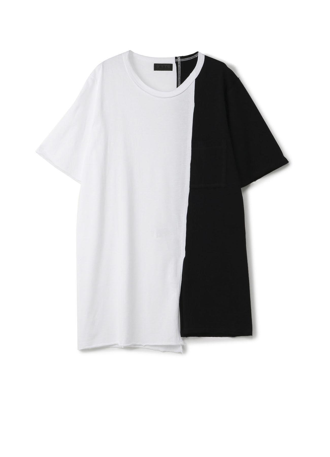 40/- Combed Jersey Asymmetry Gradation T