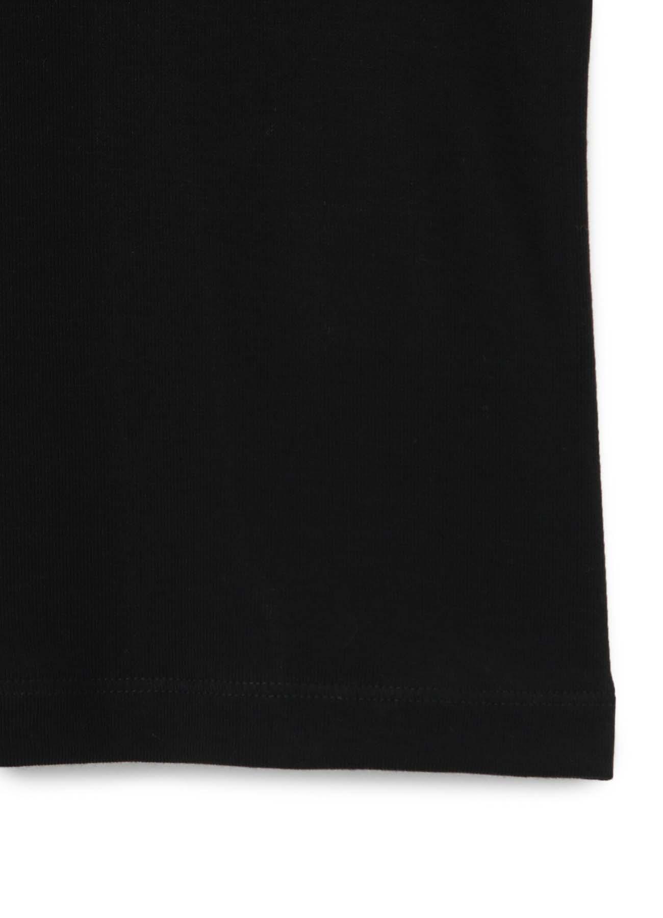 LYOCELL STRETCH RIB JERSEY ROUND NECK 3/4 SLEEVE SHIRT
