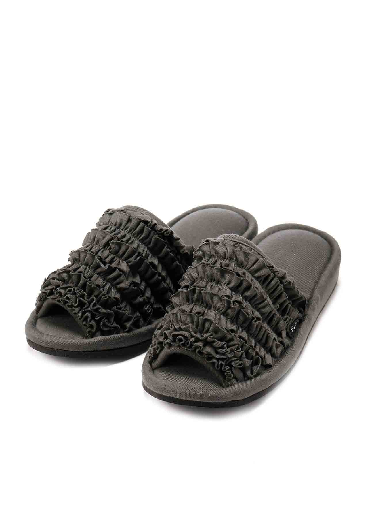 COTTON JERSEY SLIPPERS