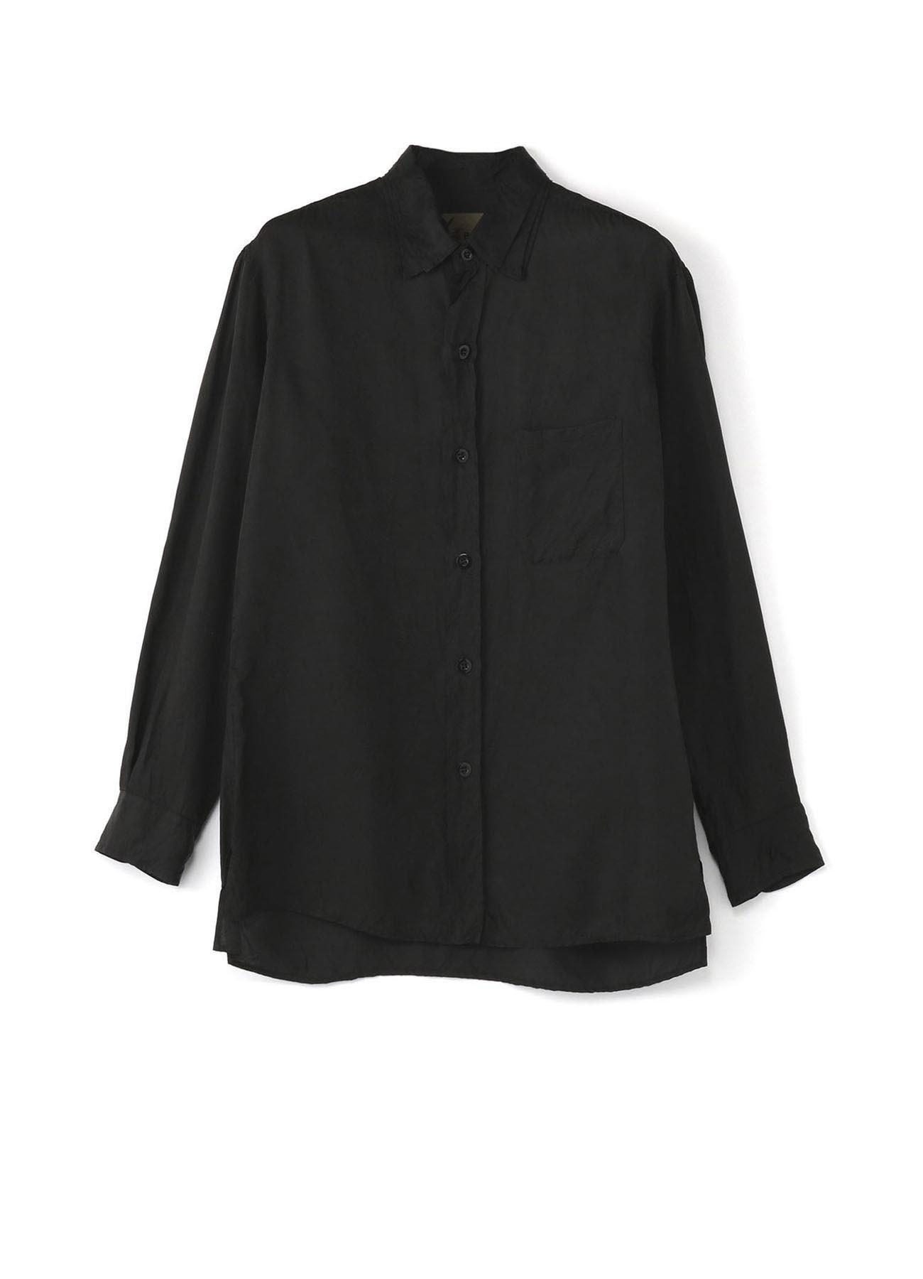 No.2 3 Layered Collar Shirt Yarn-Dyed Cupra