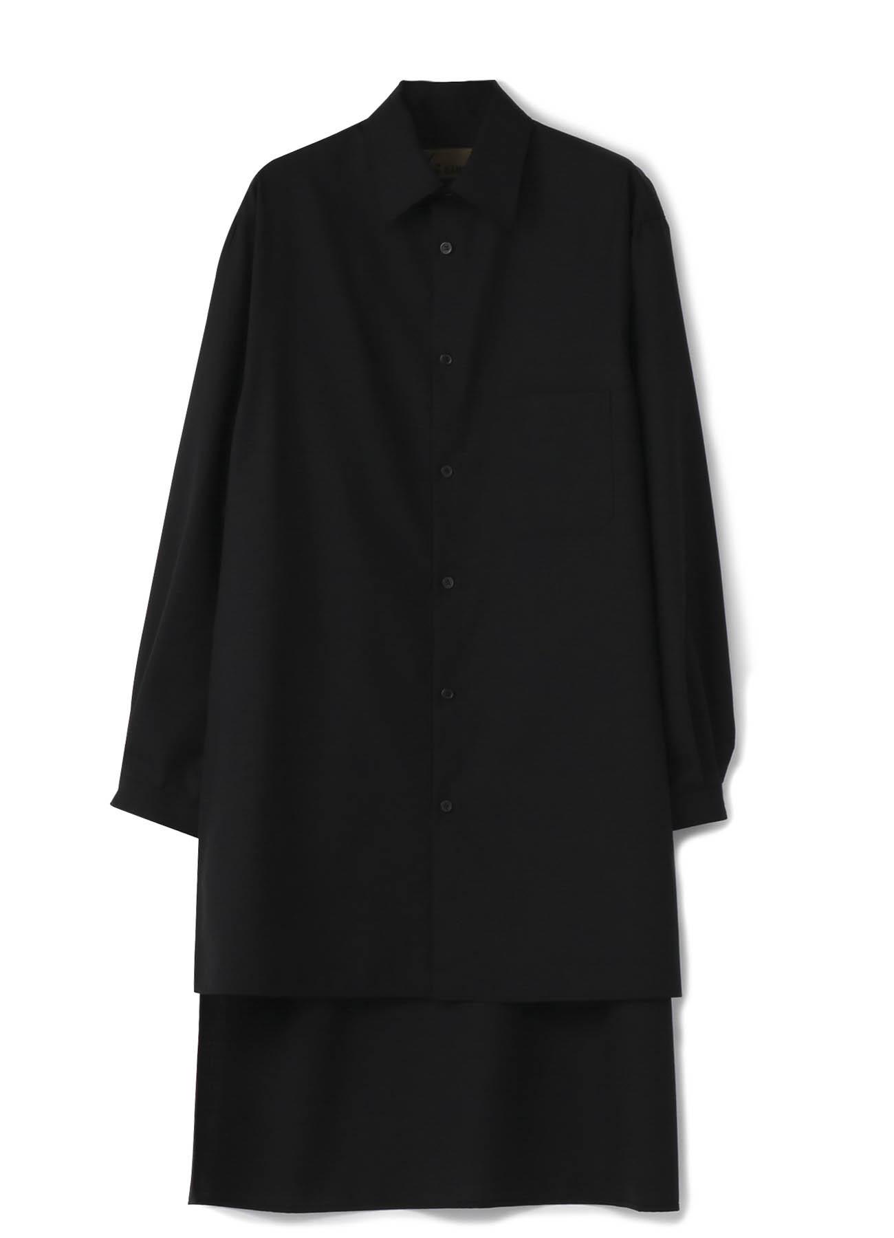 No.3背长衬衫羊毛热带