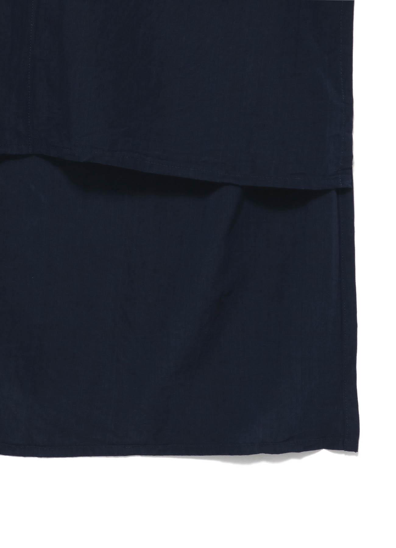 Y's BANG ON!No.3 Asymmetry Shirt Cupra-dungaree