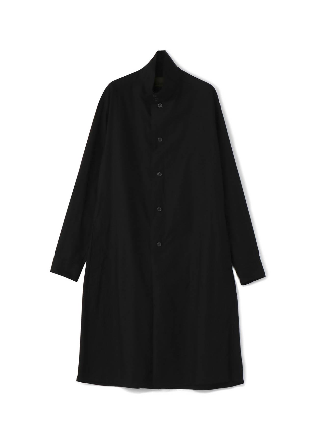 No.5 Long Shirt Coat Cotton Twill - Thin