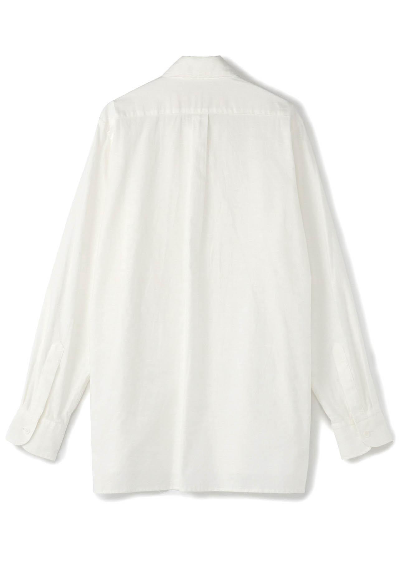 No.6 Transforming Front Placket Shirt Cotton Twill - Thin