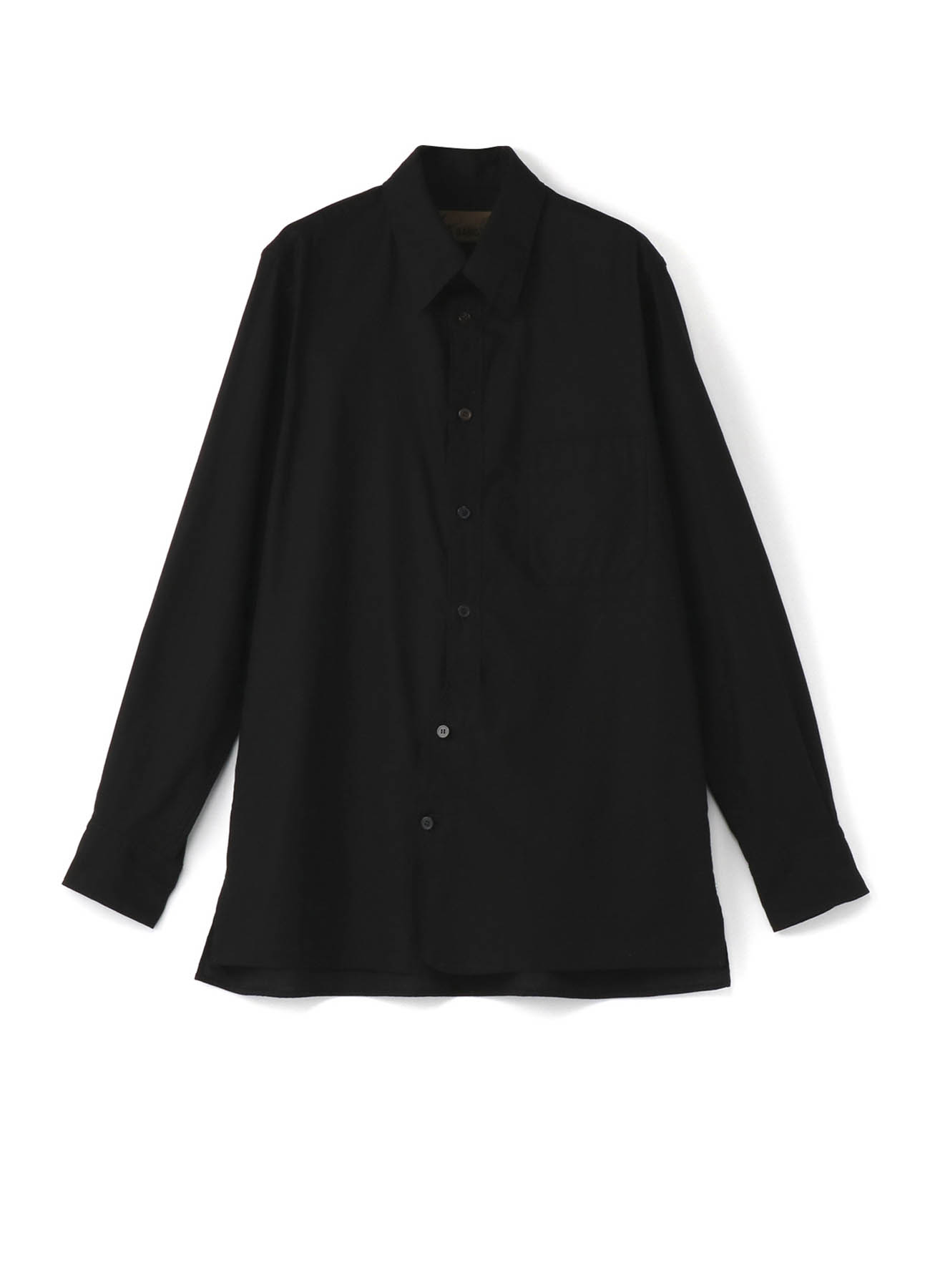 No.6. Transforming Front Placket Shirt Cotton Twill - Thin