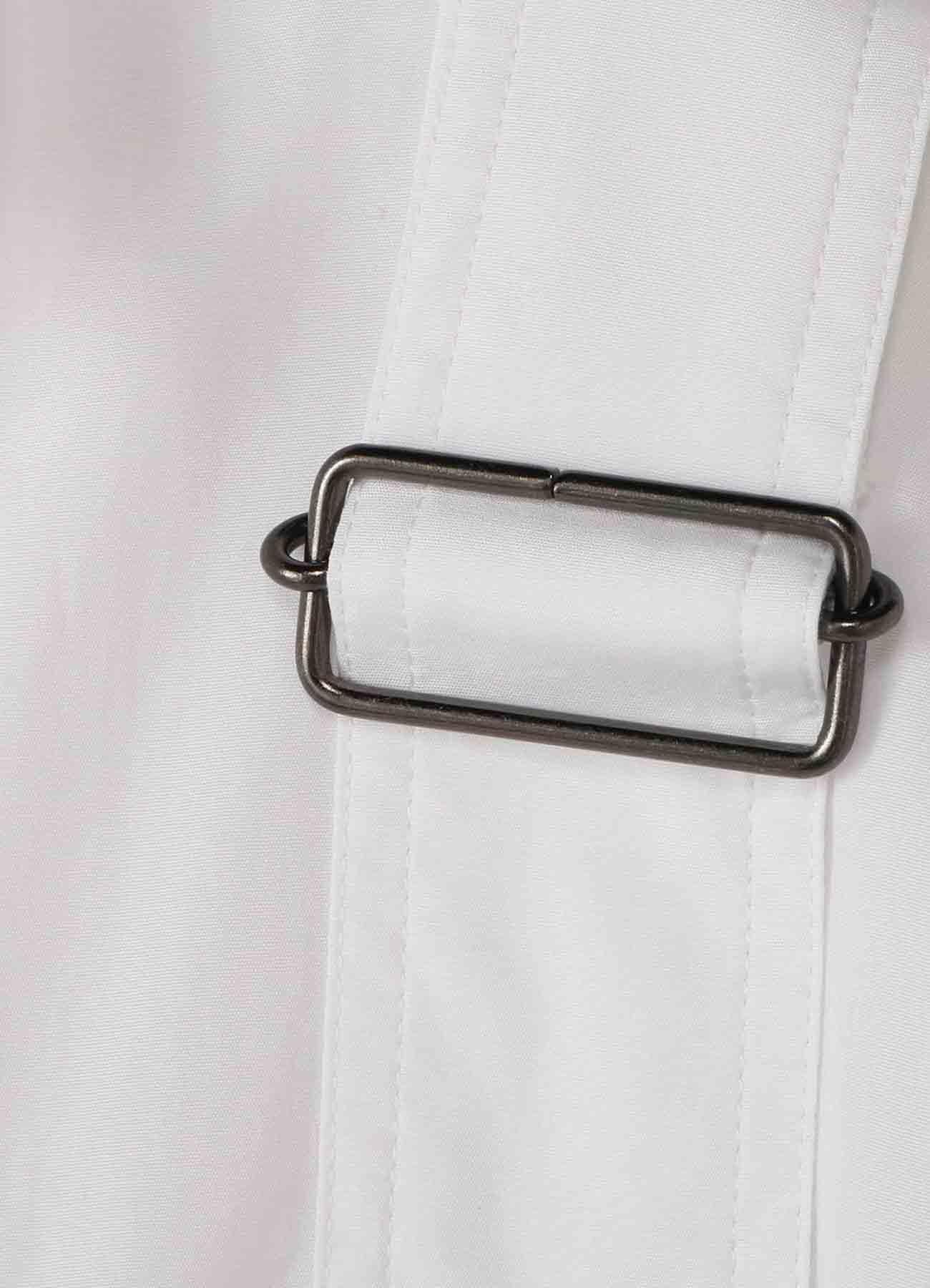 Y's BANG ON!No.108? Bandage shirt Cotton broad