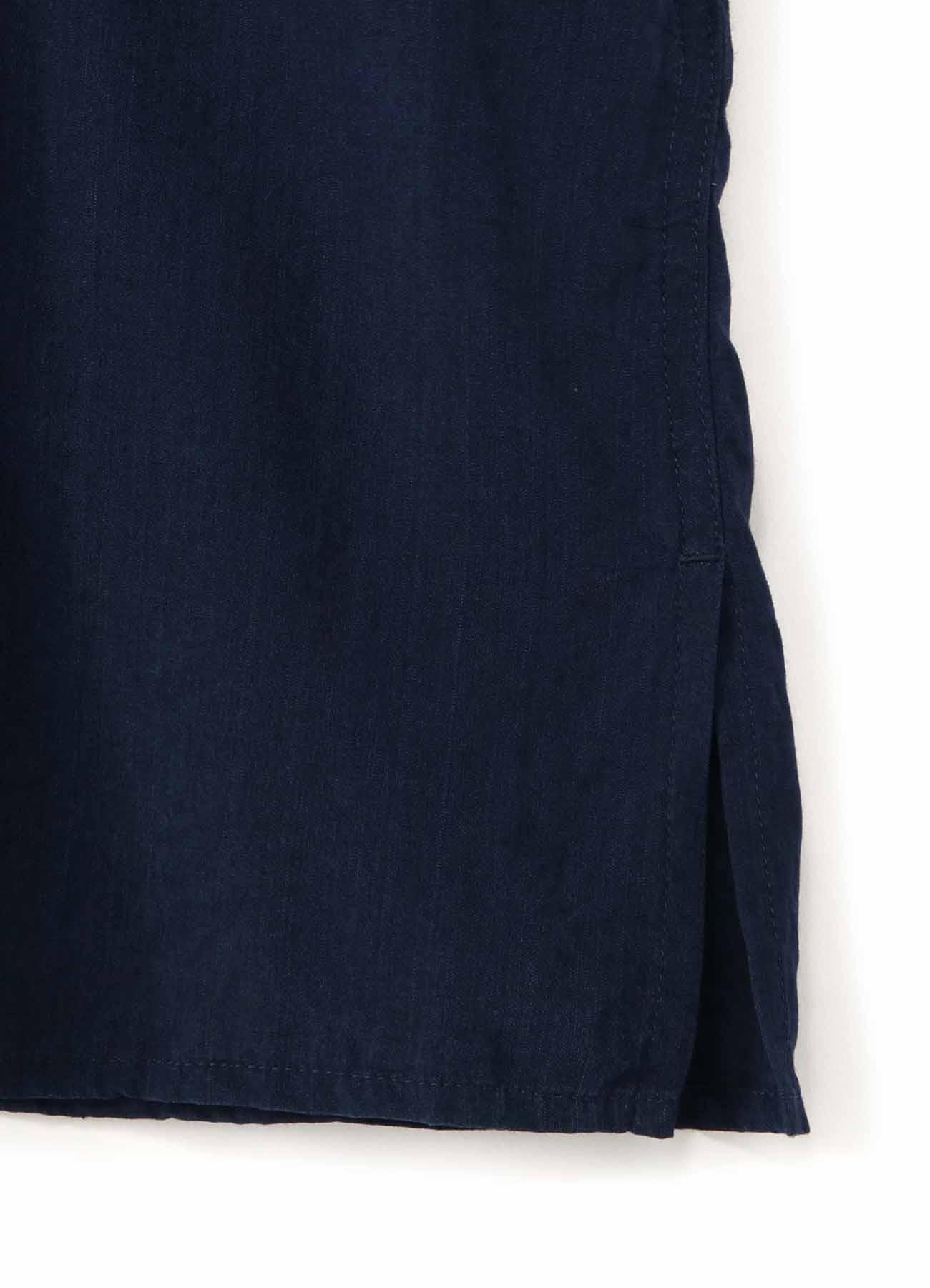 Y's BANG ON!No.108 Bandage shirt Cupra-dungaree