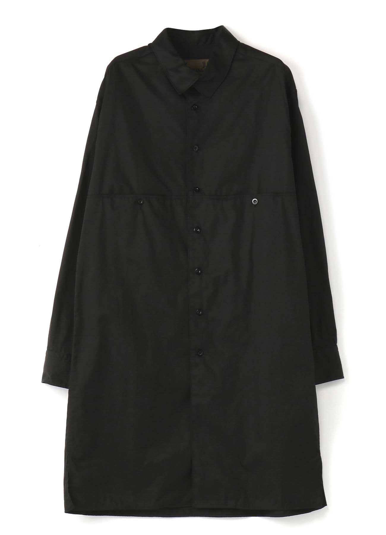 No.14 切り替えビッグシャツ バーバリー