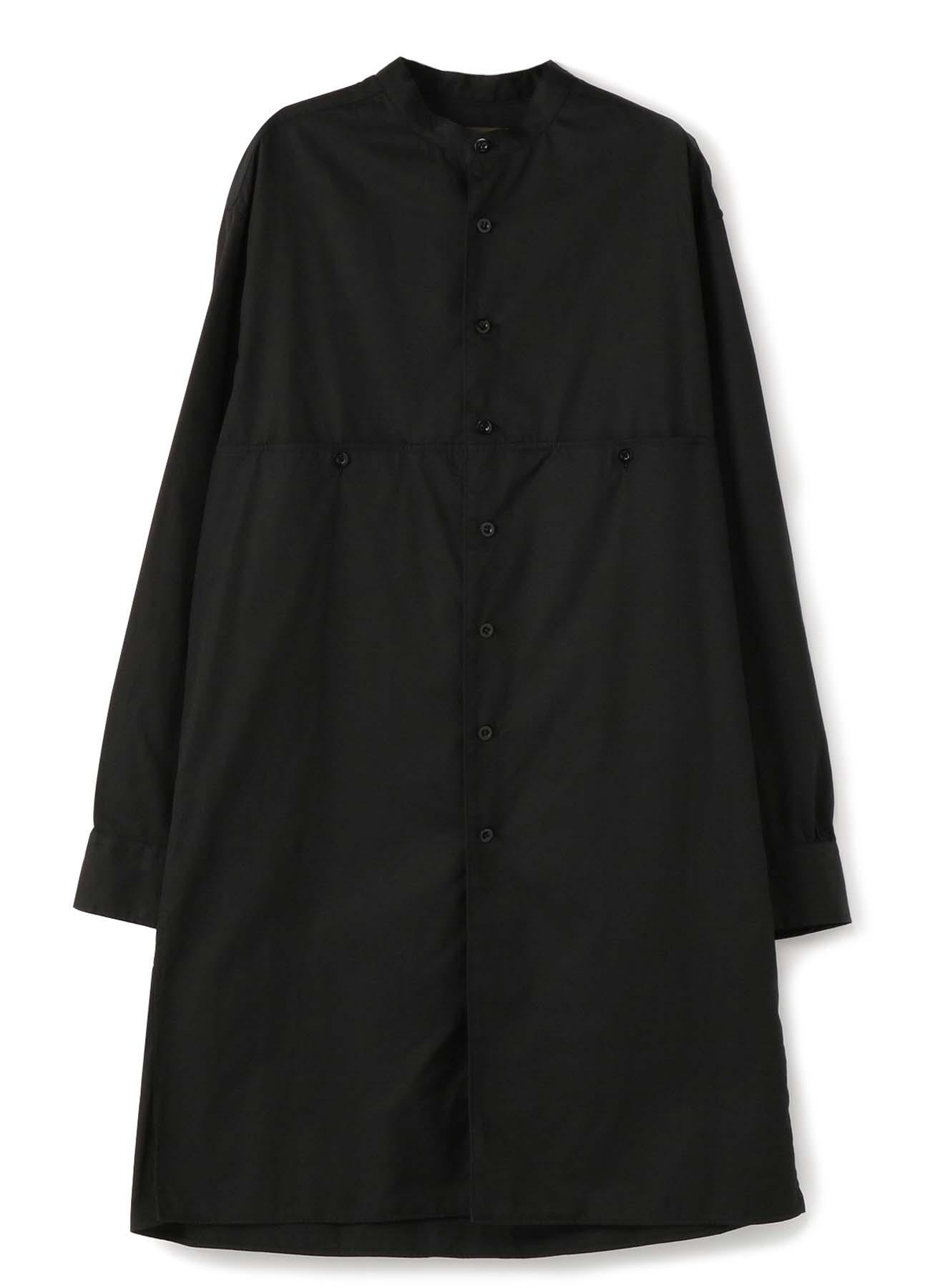 No.16 切り替えスタンドカラーシャツ バーバリー