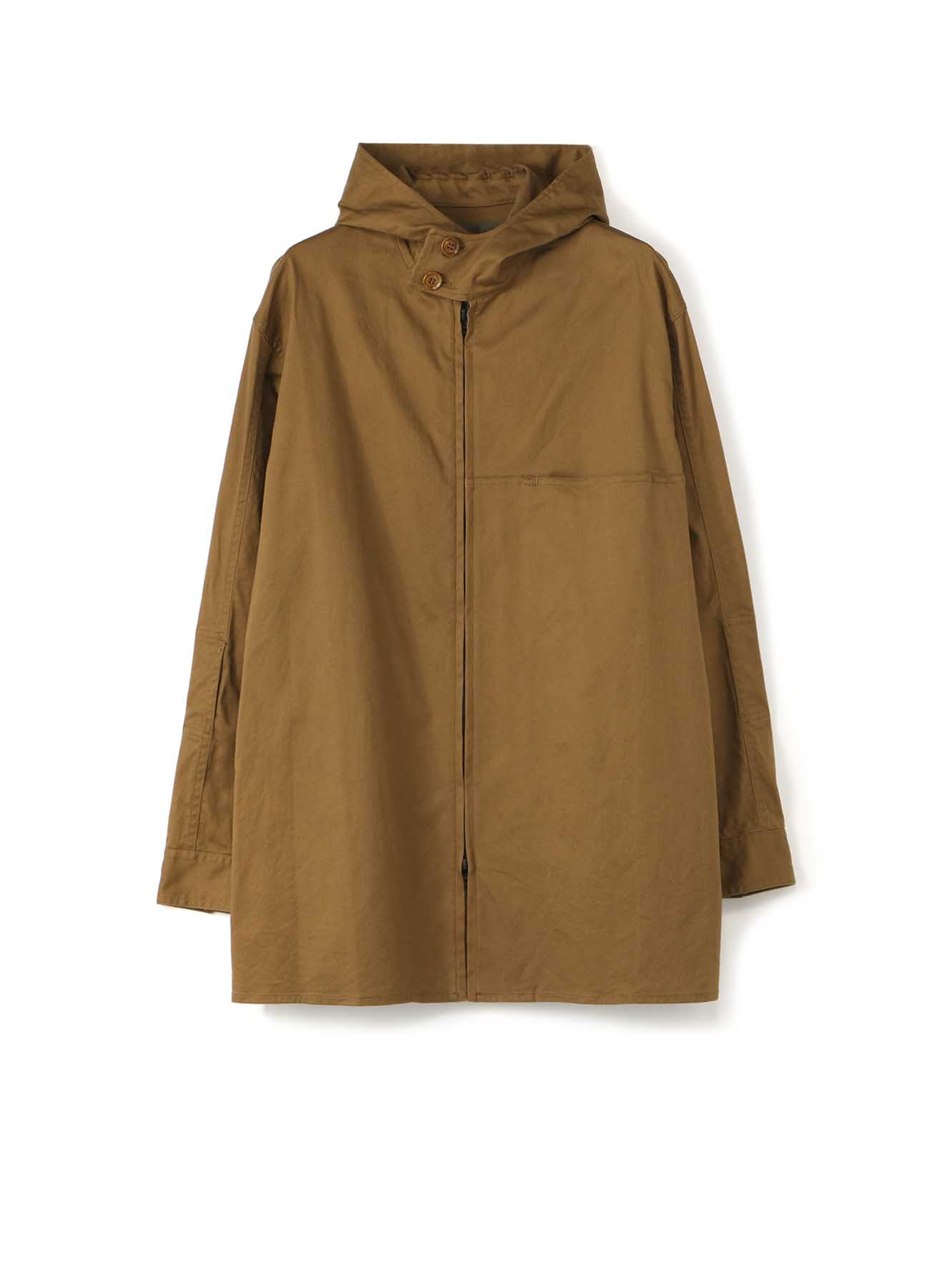 Y's BANG ON!No.30 Hooded-Blouson Stretch twill