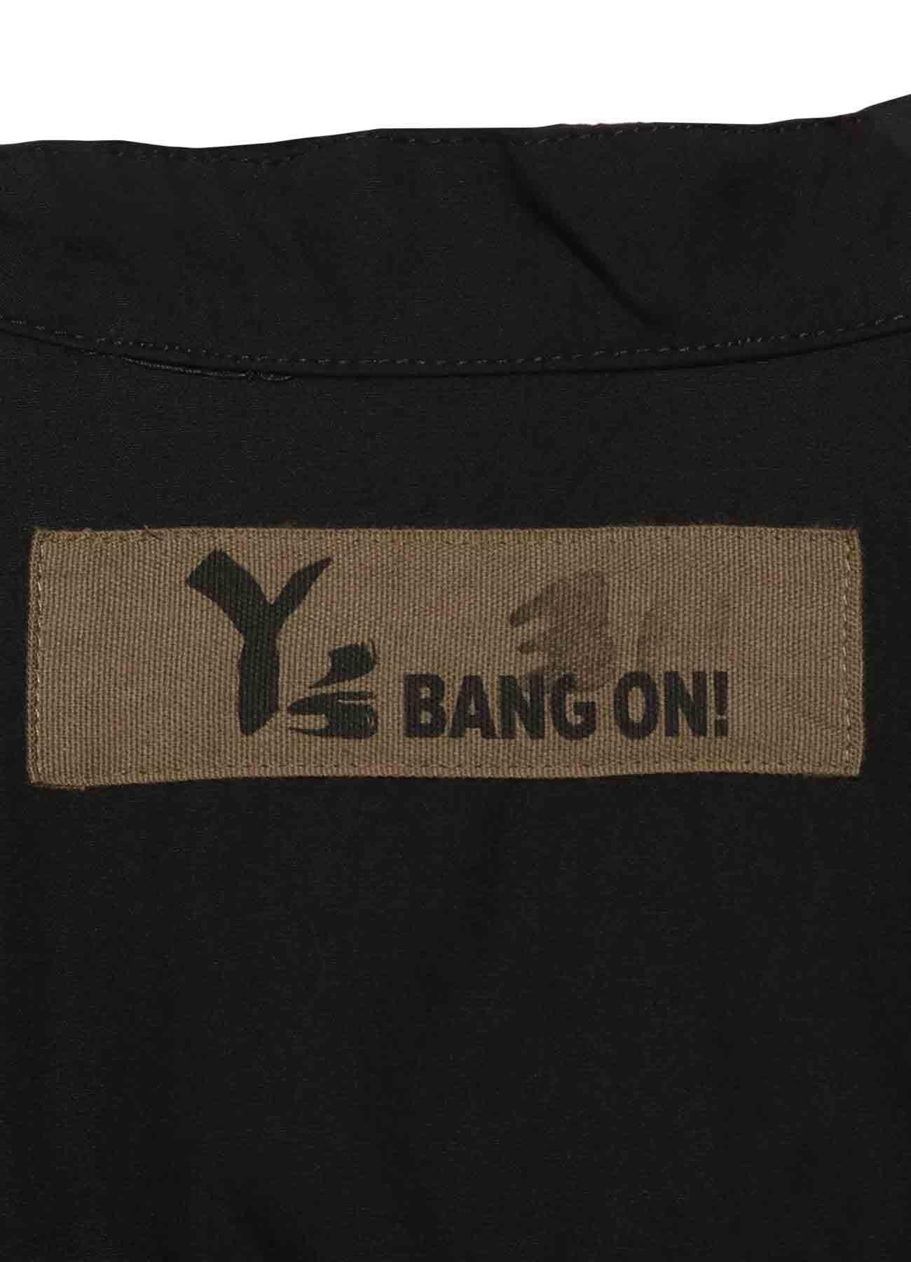 Y's BANG ON!No.30 Hooded-Shirts Cotton broad