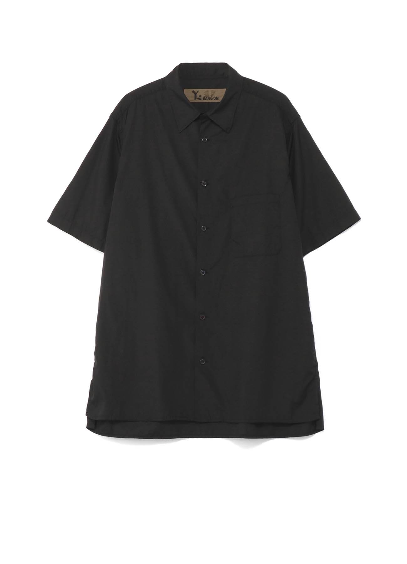 Y's BANG ON!No.37 Short sleeve blouse cotton broad