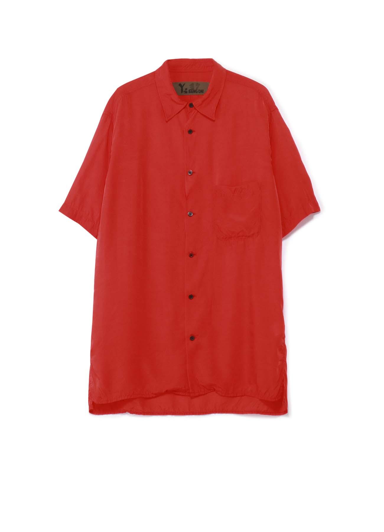 Y's BANG ON!No.37 Short sleeve blouse rayon satin
