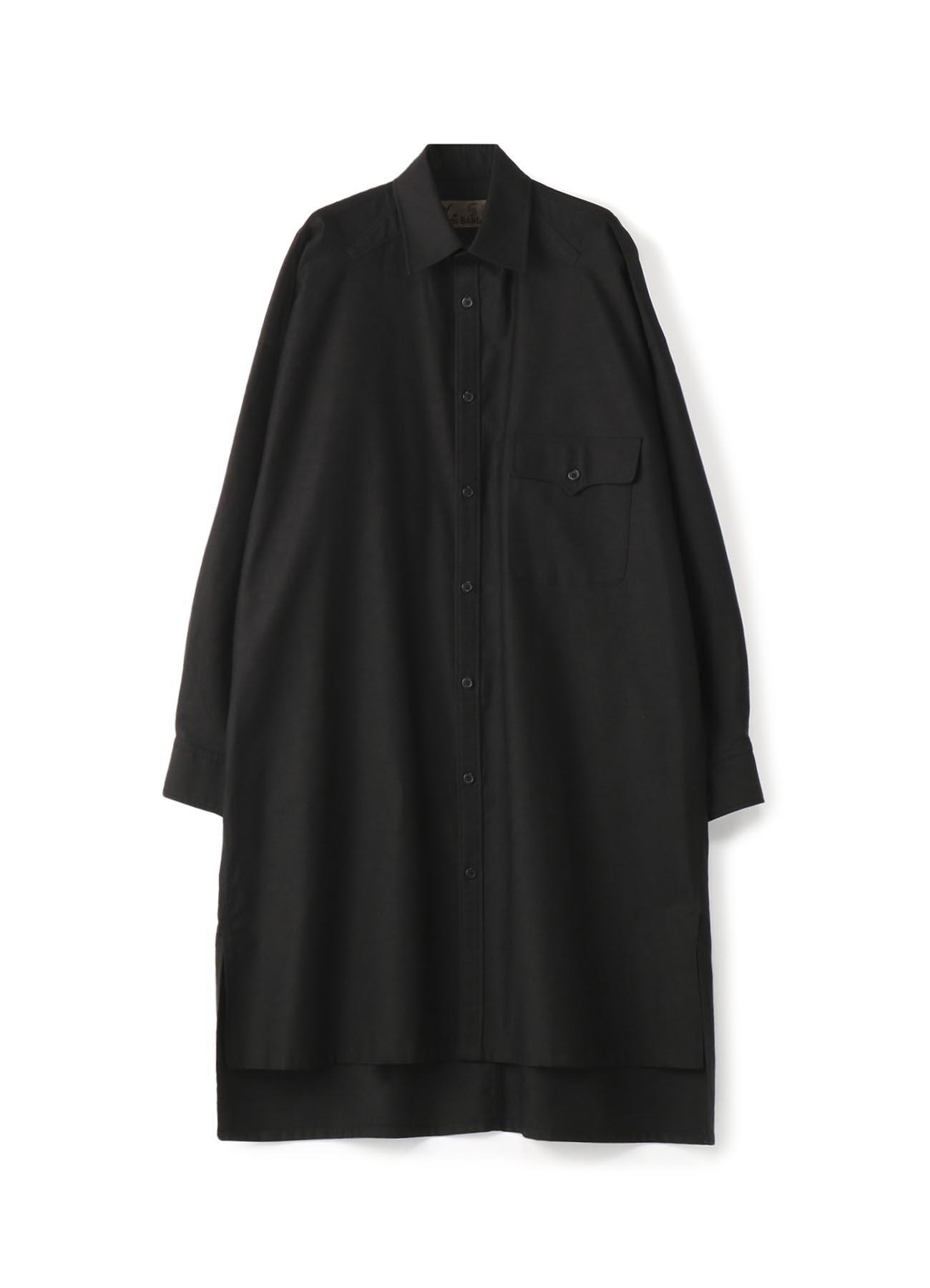 No.56胸ポケビッグシルエットシャツ コットンツイル