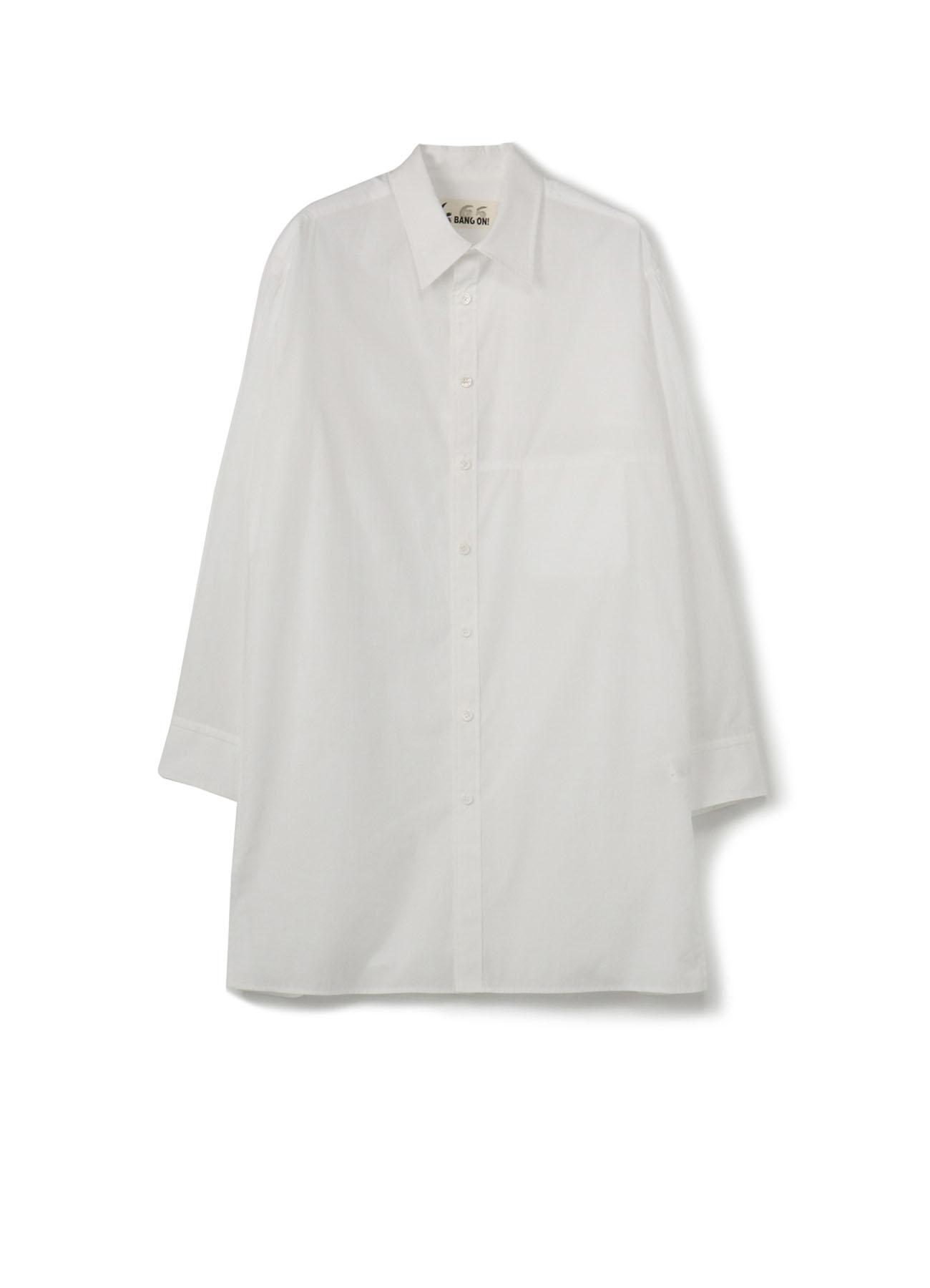 No.65 切り替えポケットシャツ コットンブロード