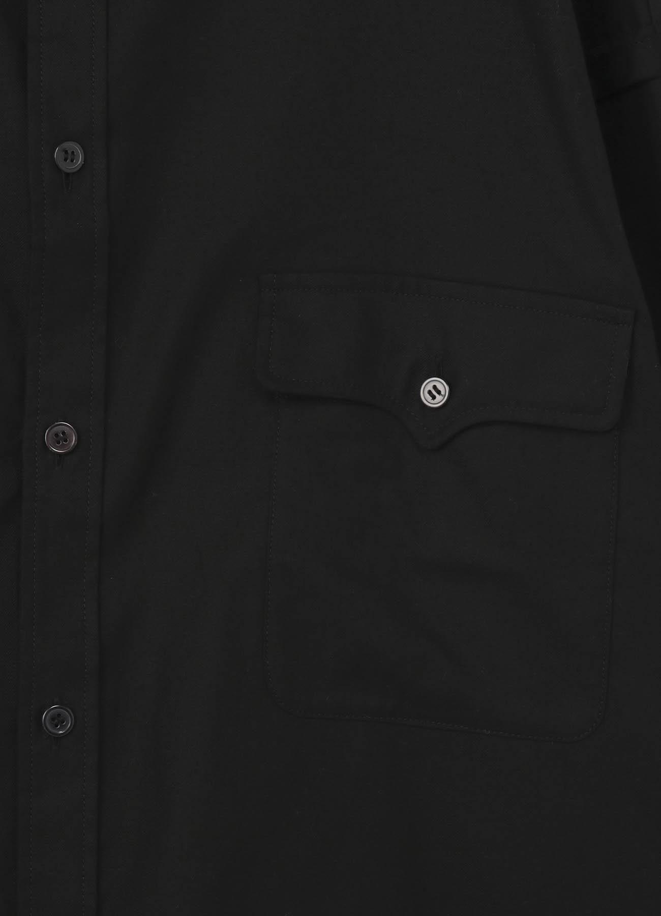 No.74 ビッグシャツ コットンツイル