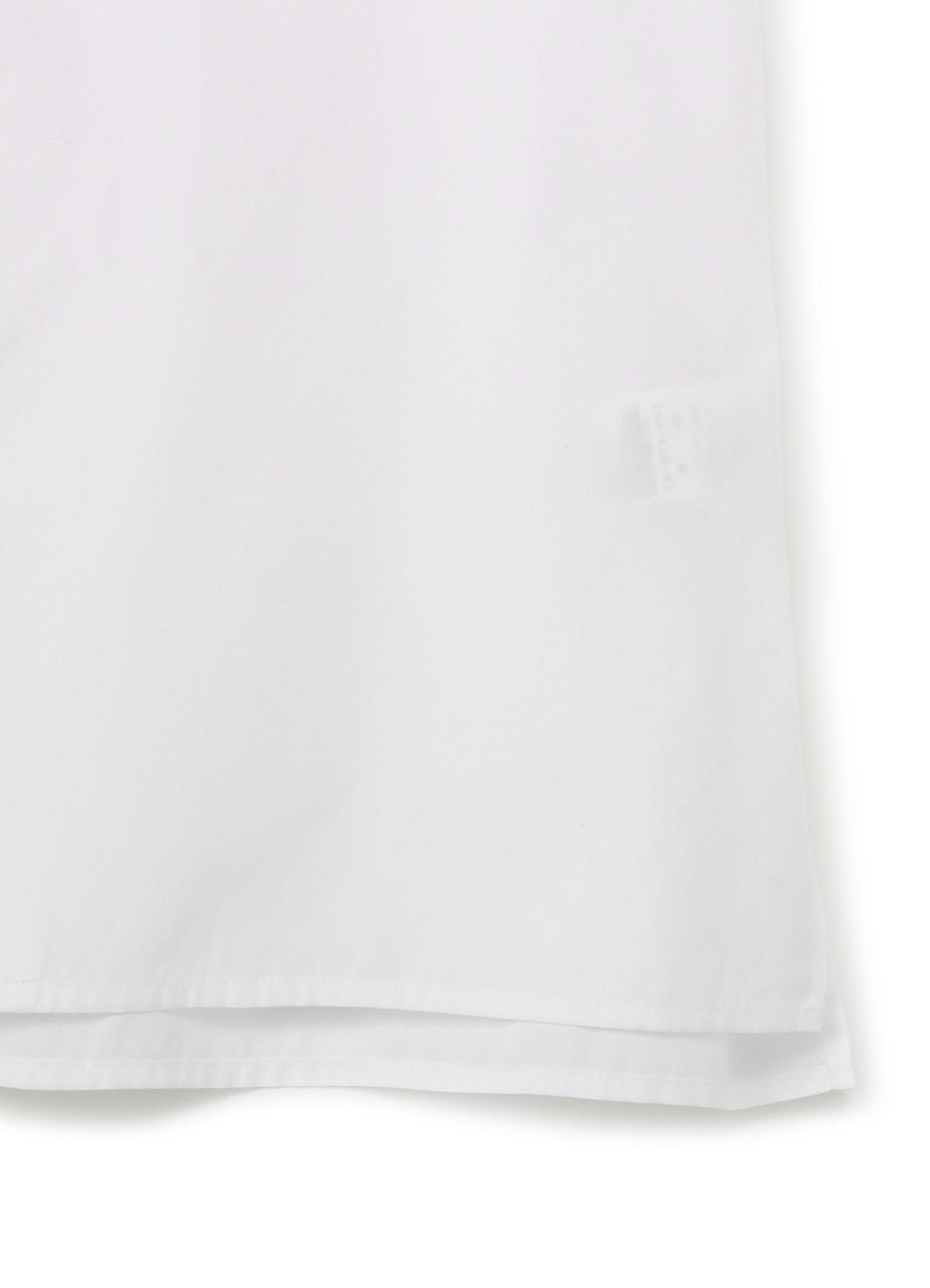 No.79 切込みシャツ コットンブロード