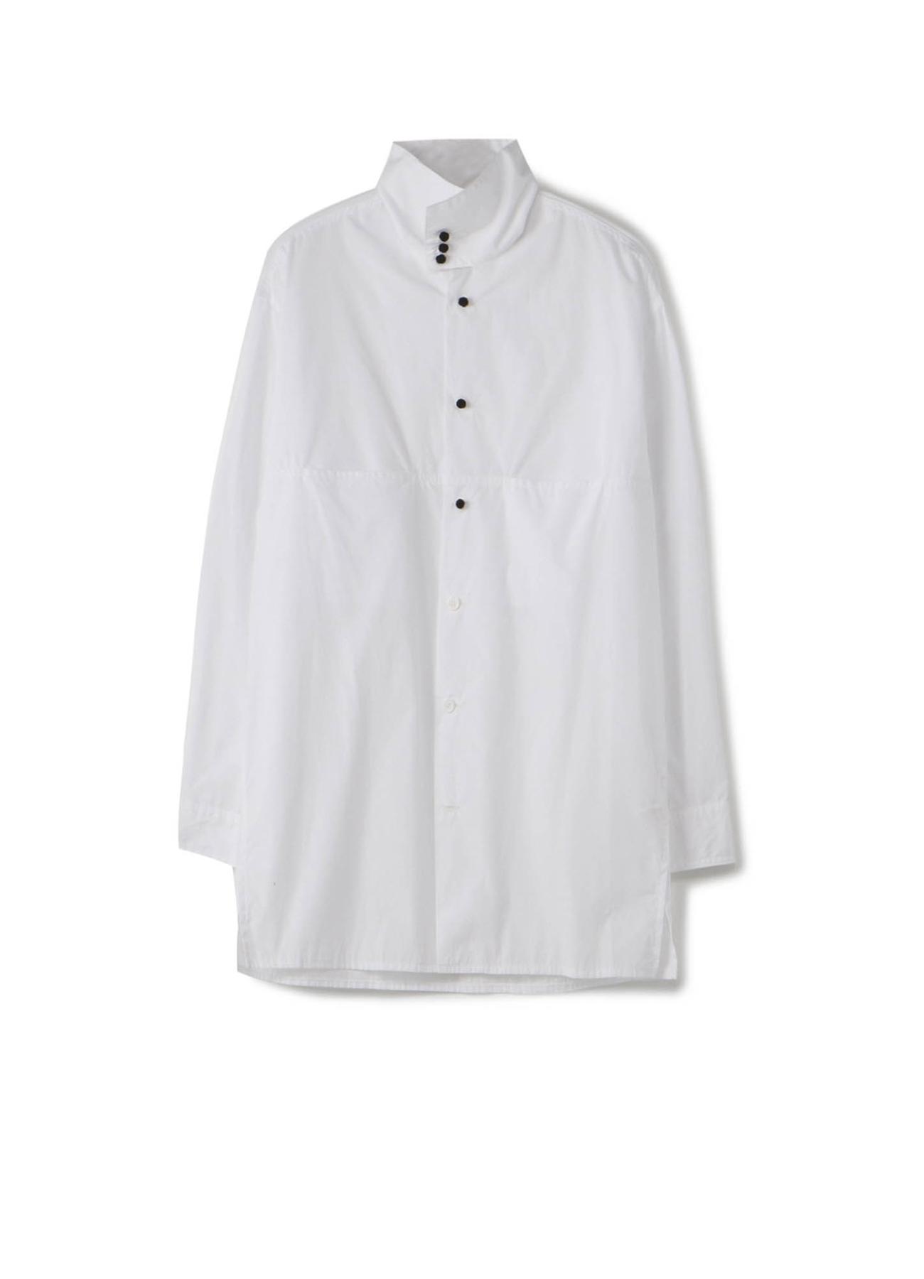 No.85 釈迦ボタンスタンドカラーシャツ