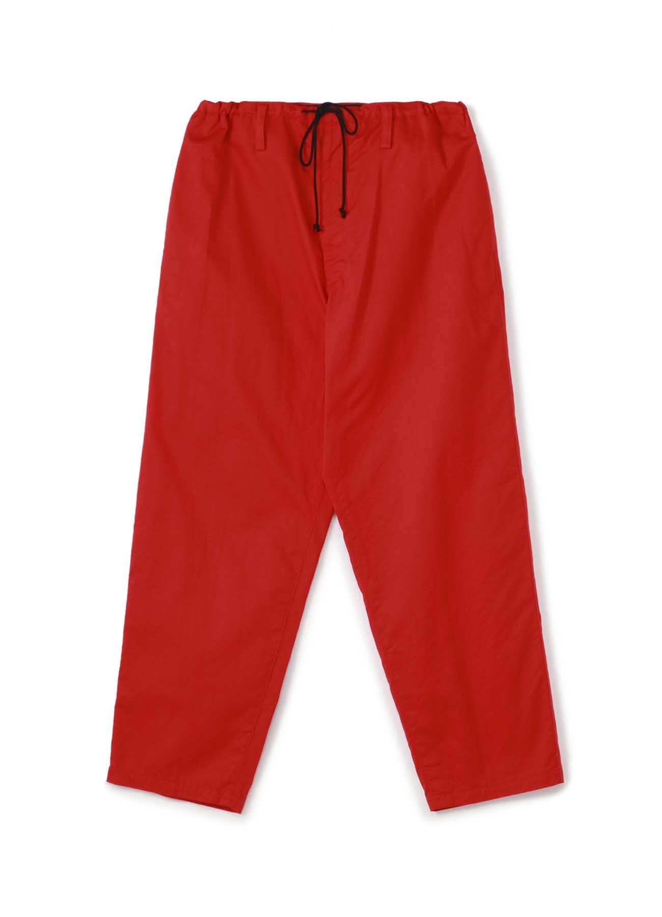 Y's BANG ON!No.7 Waist string-Pants Cotton KATSURAGI