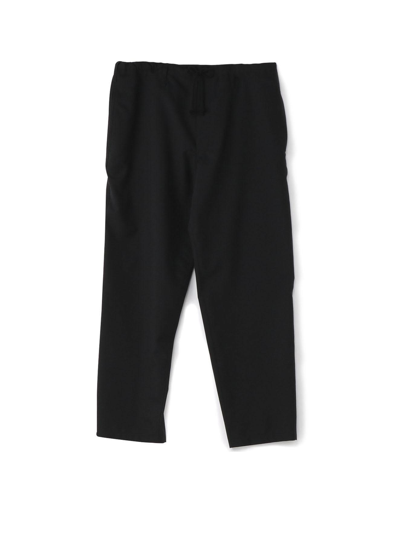 No.7 腰部绳裤 羊毛薄布料