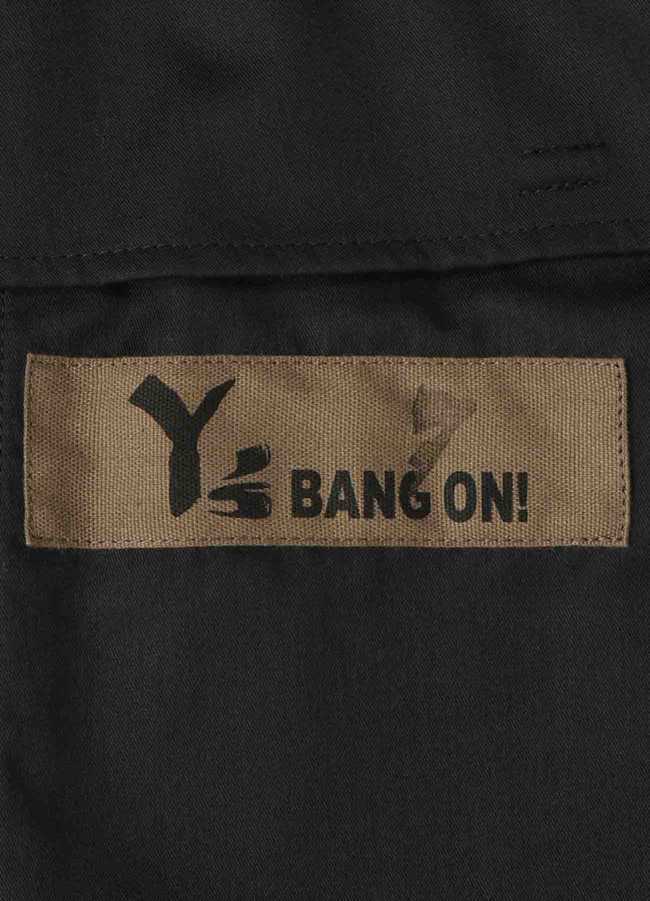Y's BANG ON!No.07 Waist string-Pants Wool Flannel