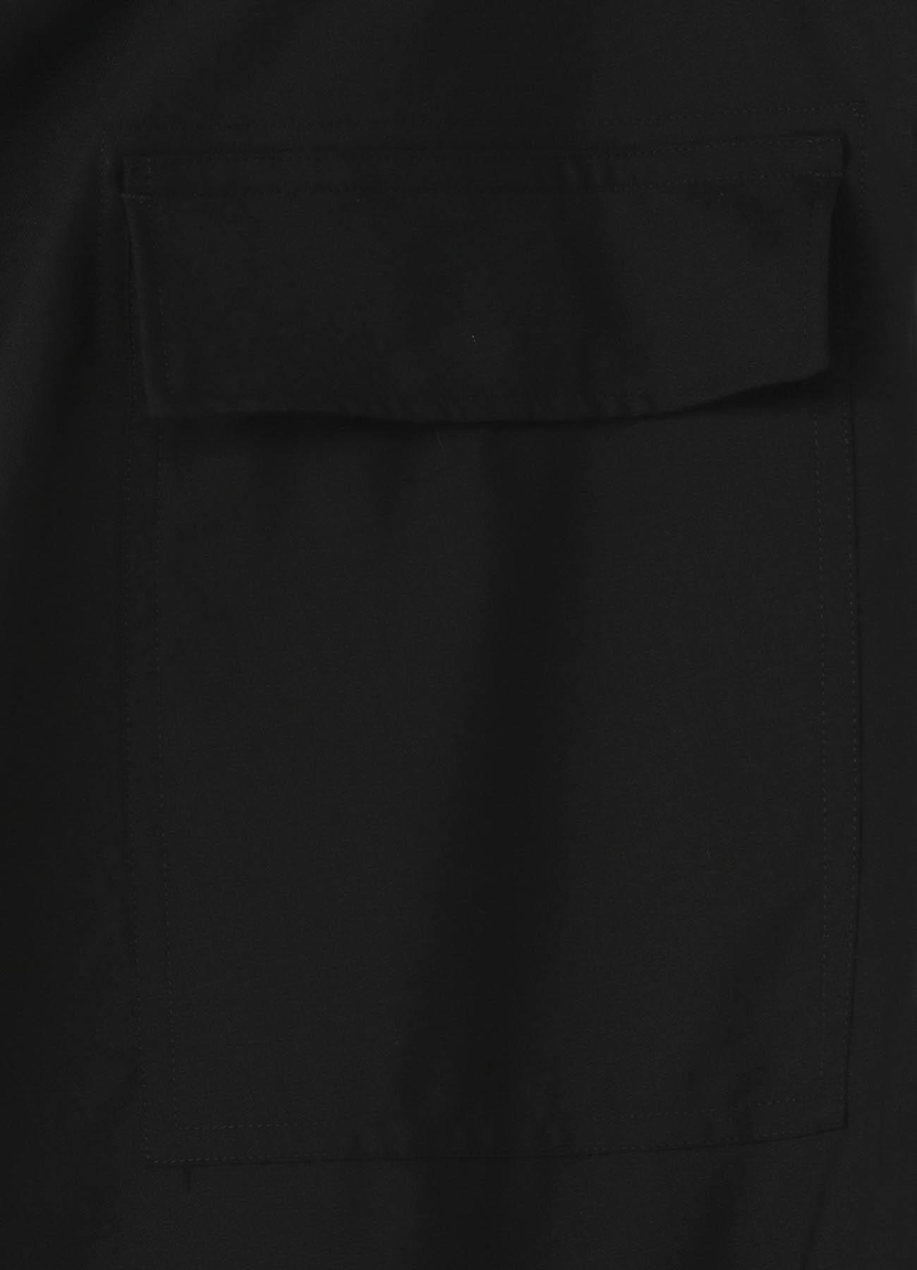 No.8 裾紐パンツ ウールトロピカル