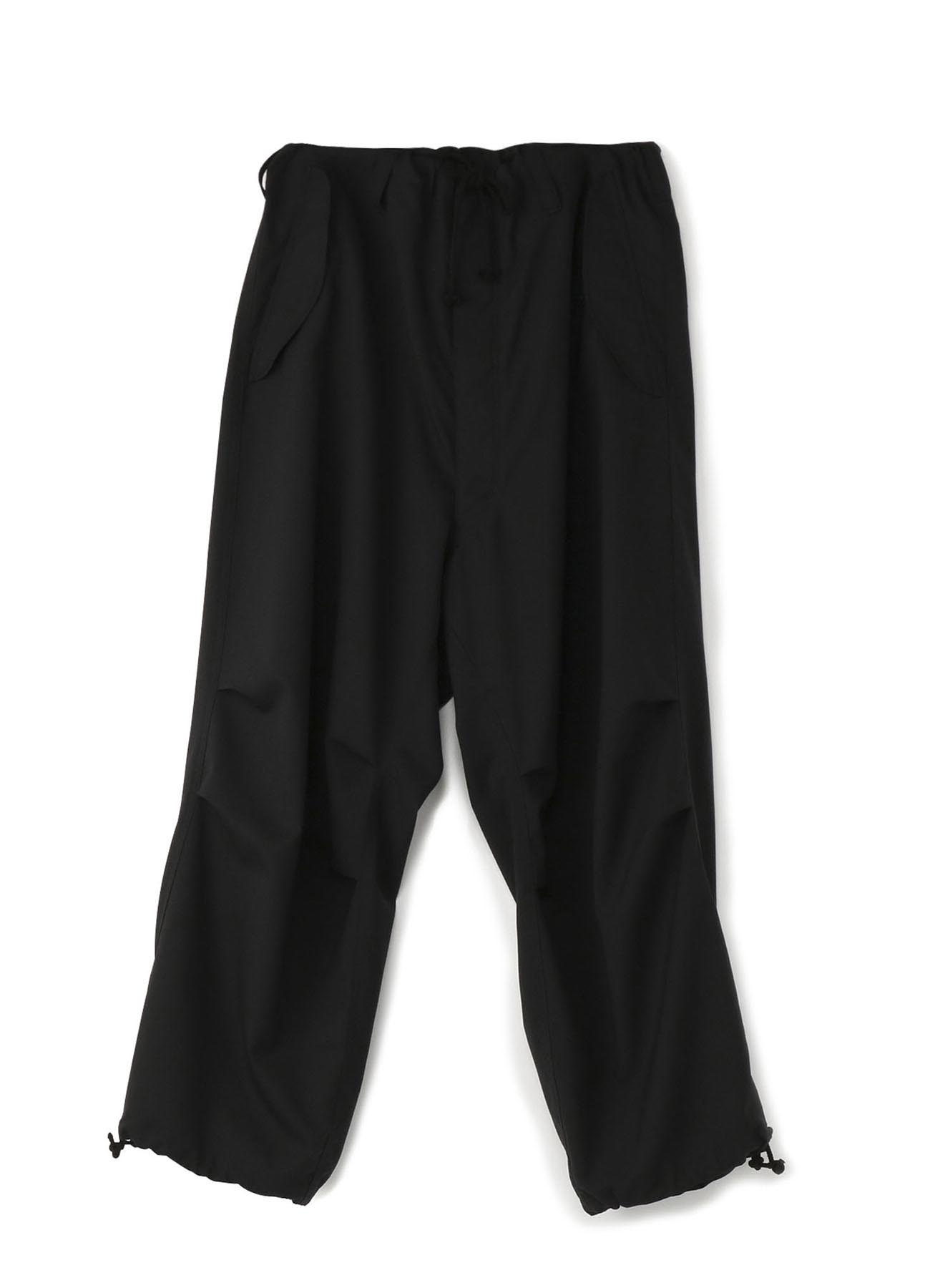 No. 8 抽绳裤 羊毛薄布料