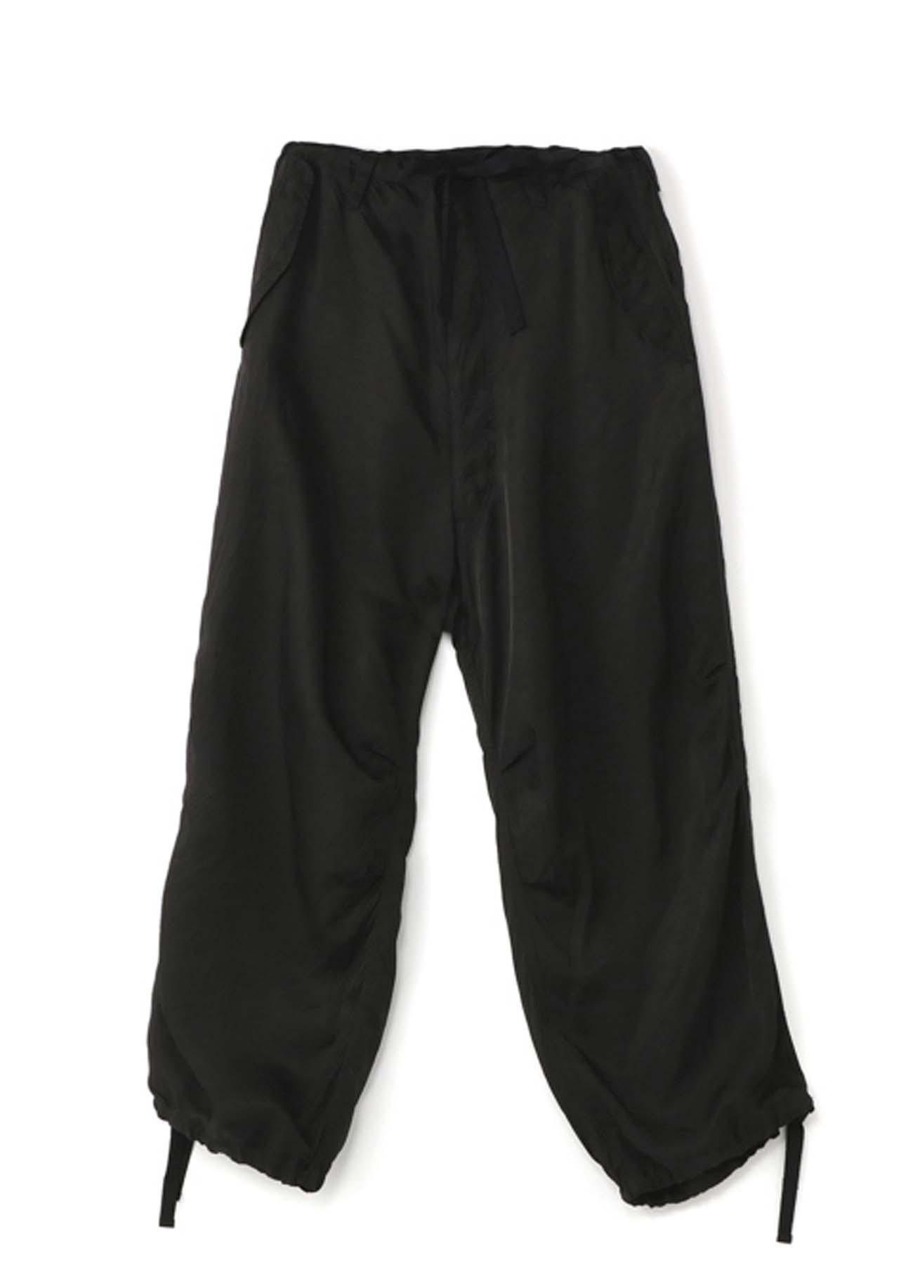 No. 8 轻薄褶皱灯笼裤