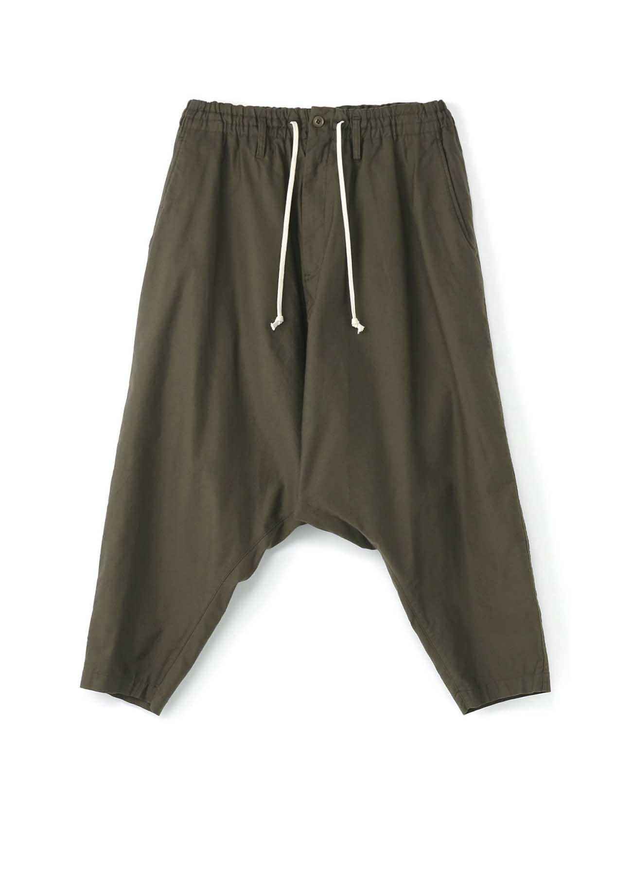 No.9 Sarouel Pants Cotton Twill - Thick