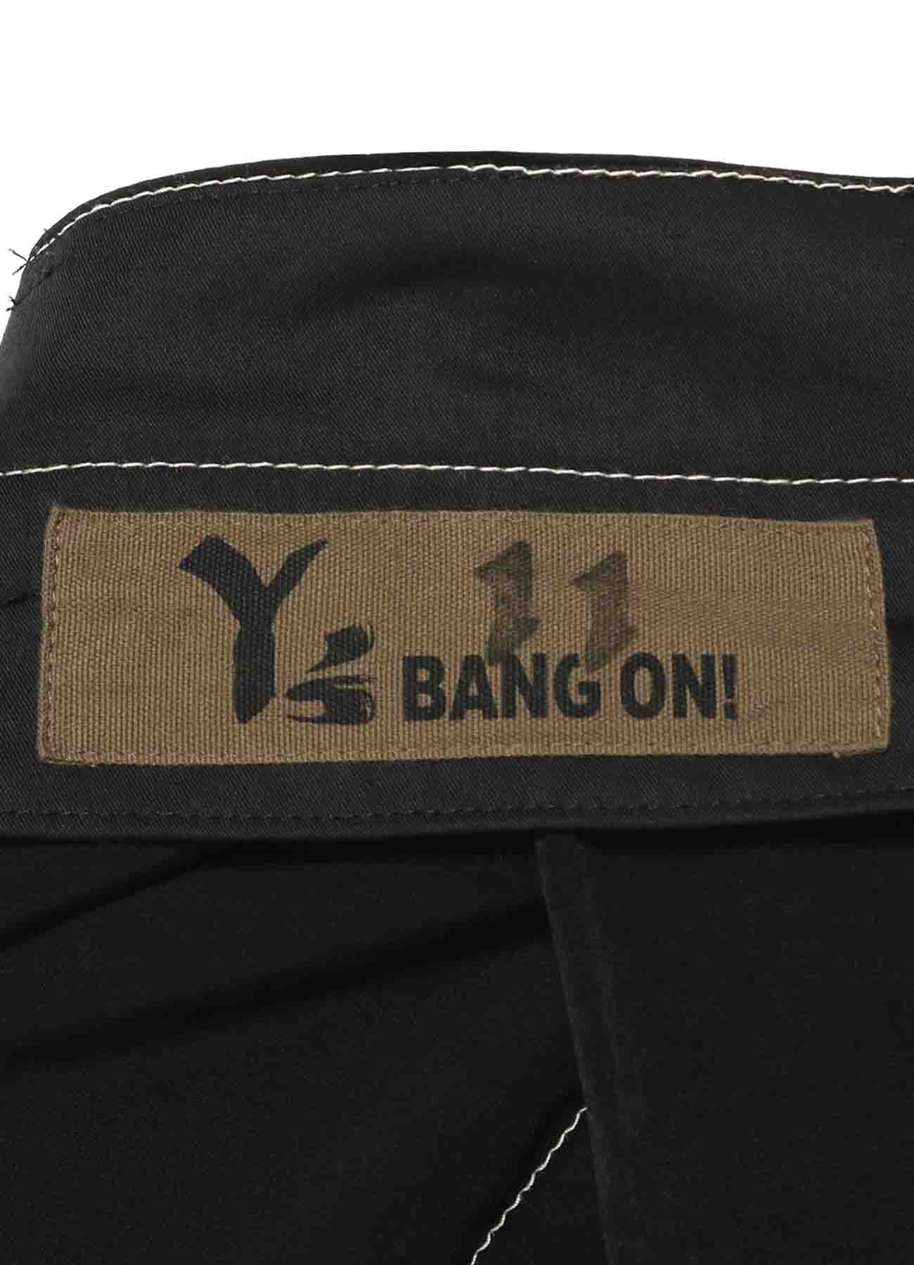 Y's BANG ON!No.11 Pleats pants Ta/Pe-dechine