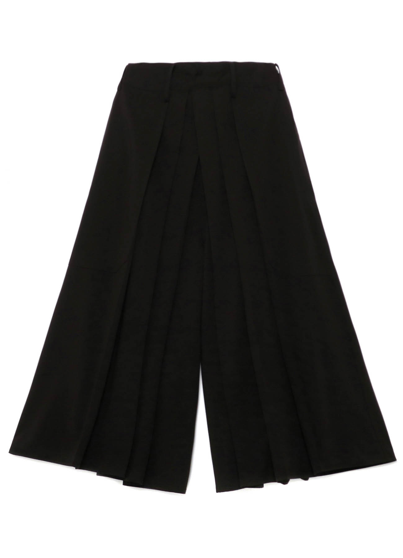 Y's BANG ON!No.11 Pleats pants Stretch gabardine