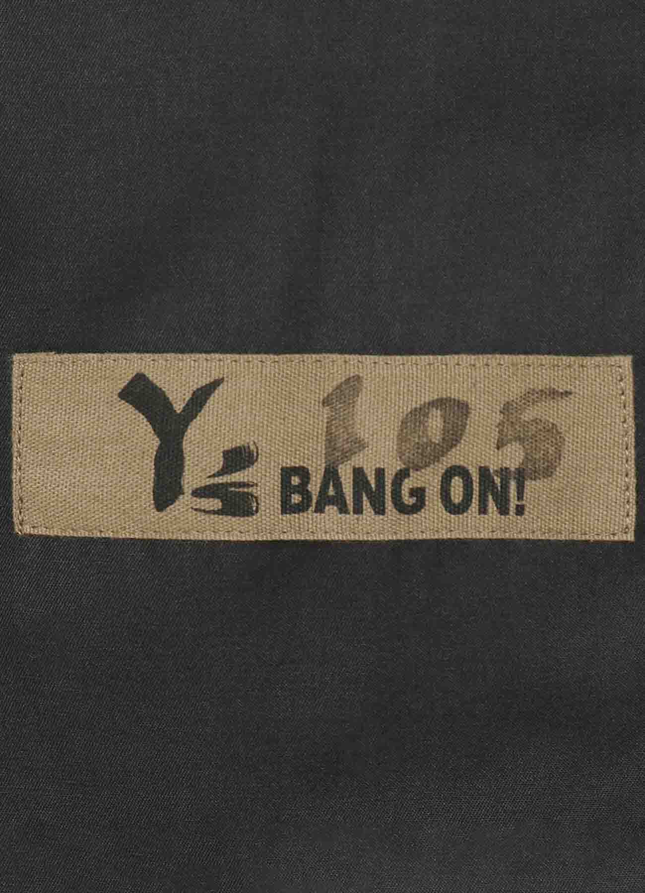 Y's BANG ON!No.105? Bandage Pants taslan stretch