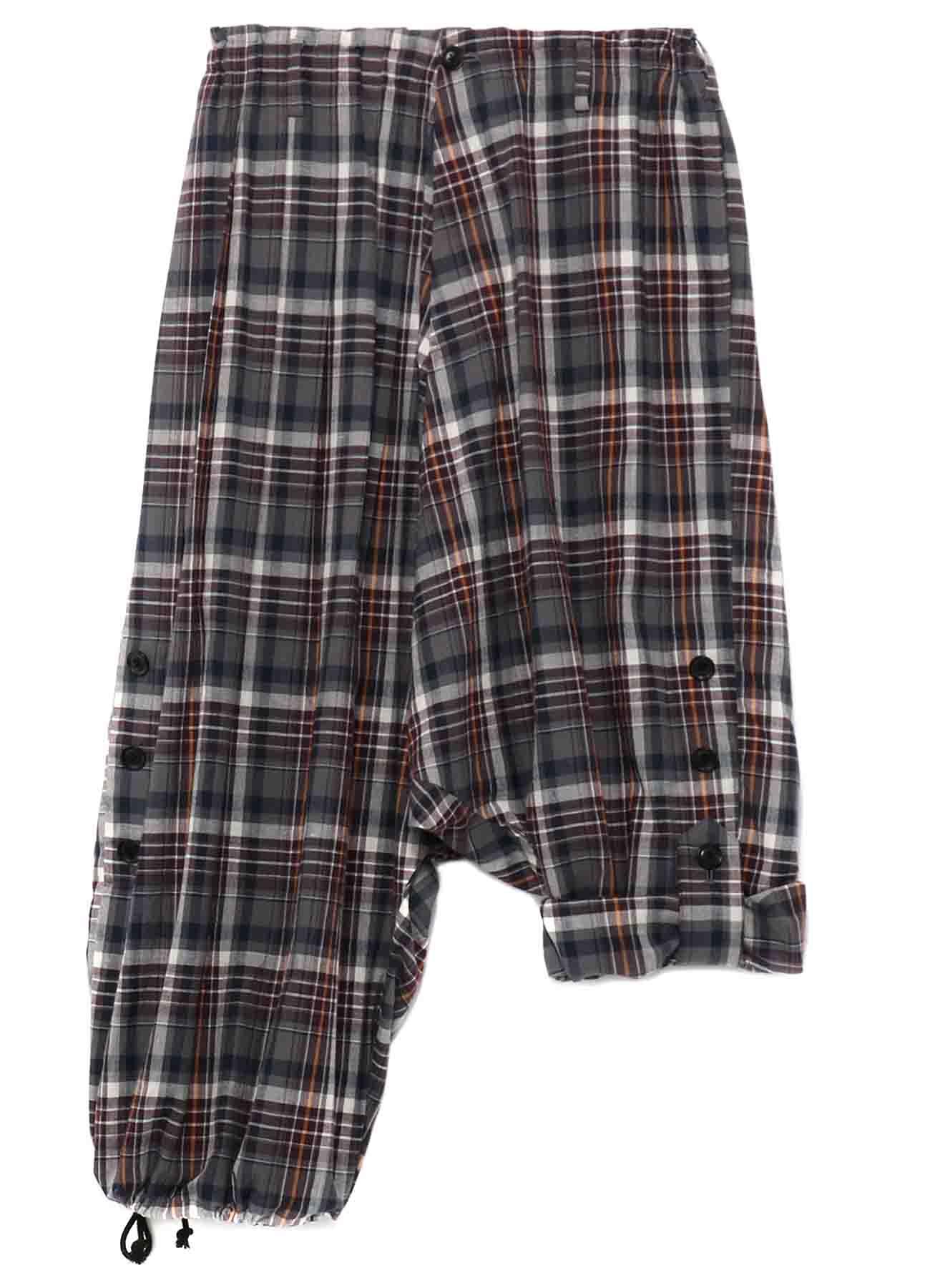 Y's BANG ON!No.106 Roll up Sarouel Pants Check