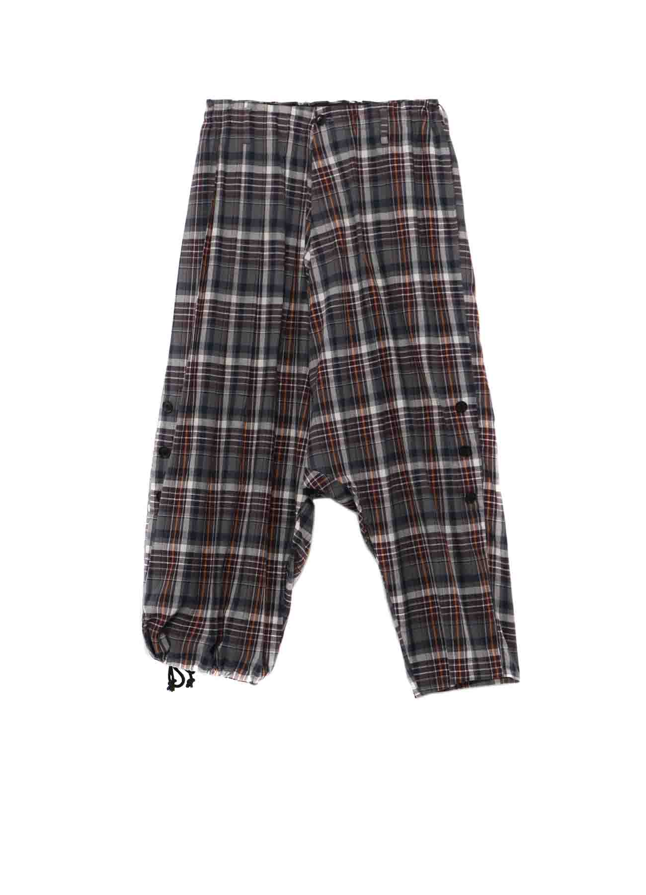 Y's BANG ON!No.106 Roll up Sarouel Pants Check