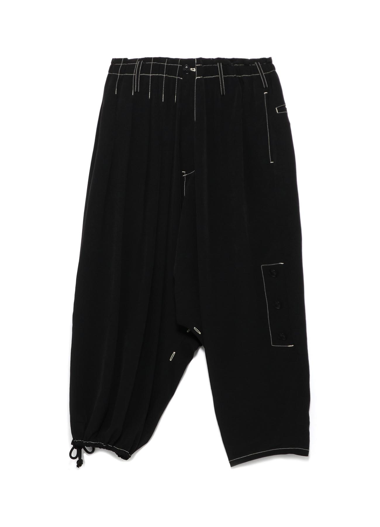 Y's BANG ON!No106 Roll up Sarouel Pants Ta/Pe-dechine
