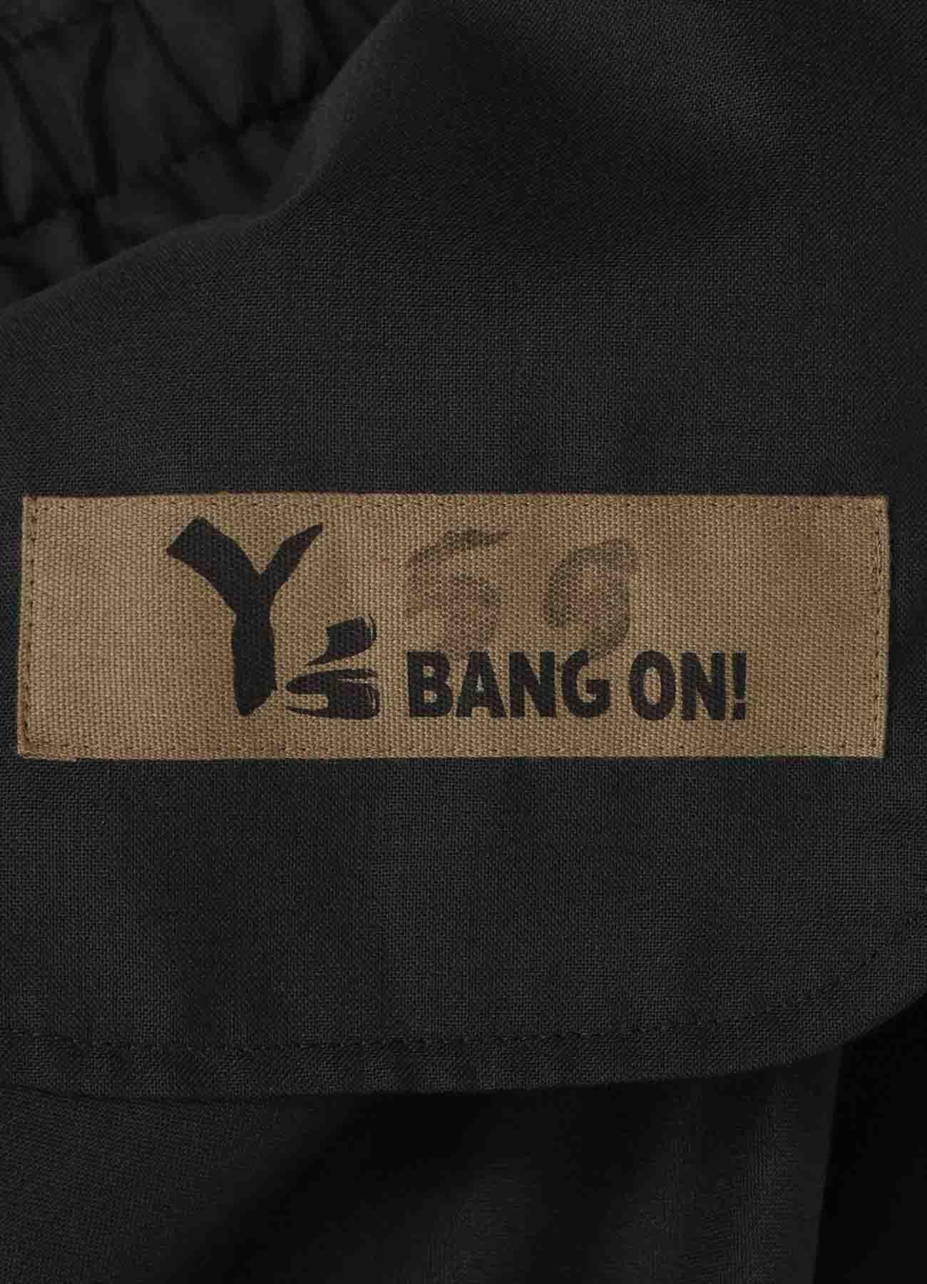 Y's BANG ON! No.59 裾リブパンツ ウールトロピカル
