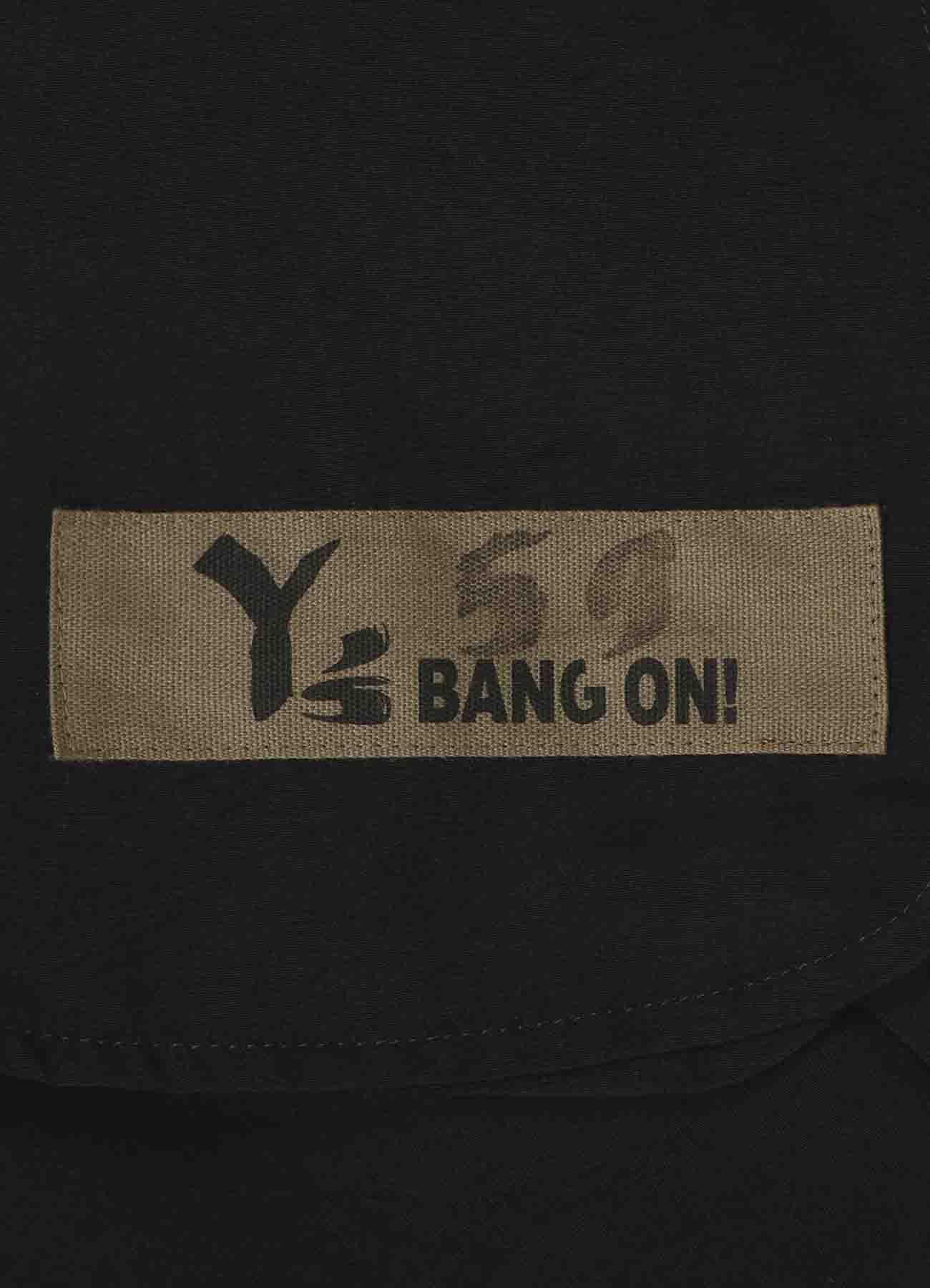Y's BANG ON! No.59 裾リブパンツ デシン