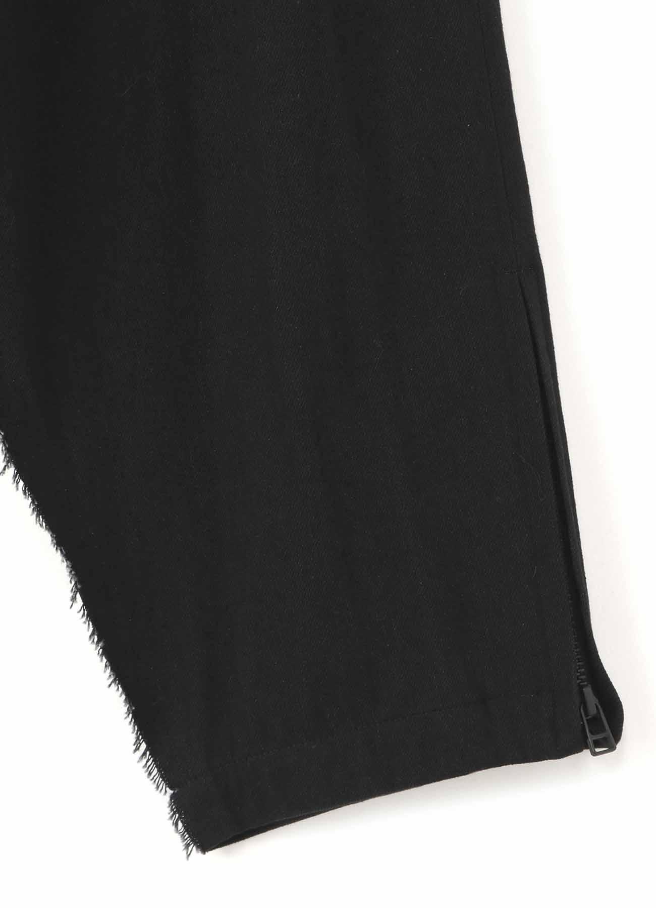 Y's BANG ON!No.96 Leyered patchwork-Pants Black denim