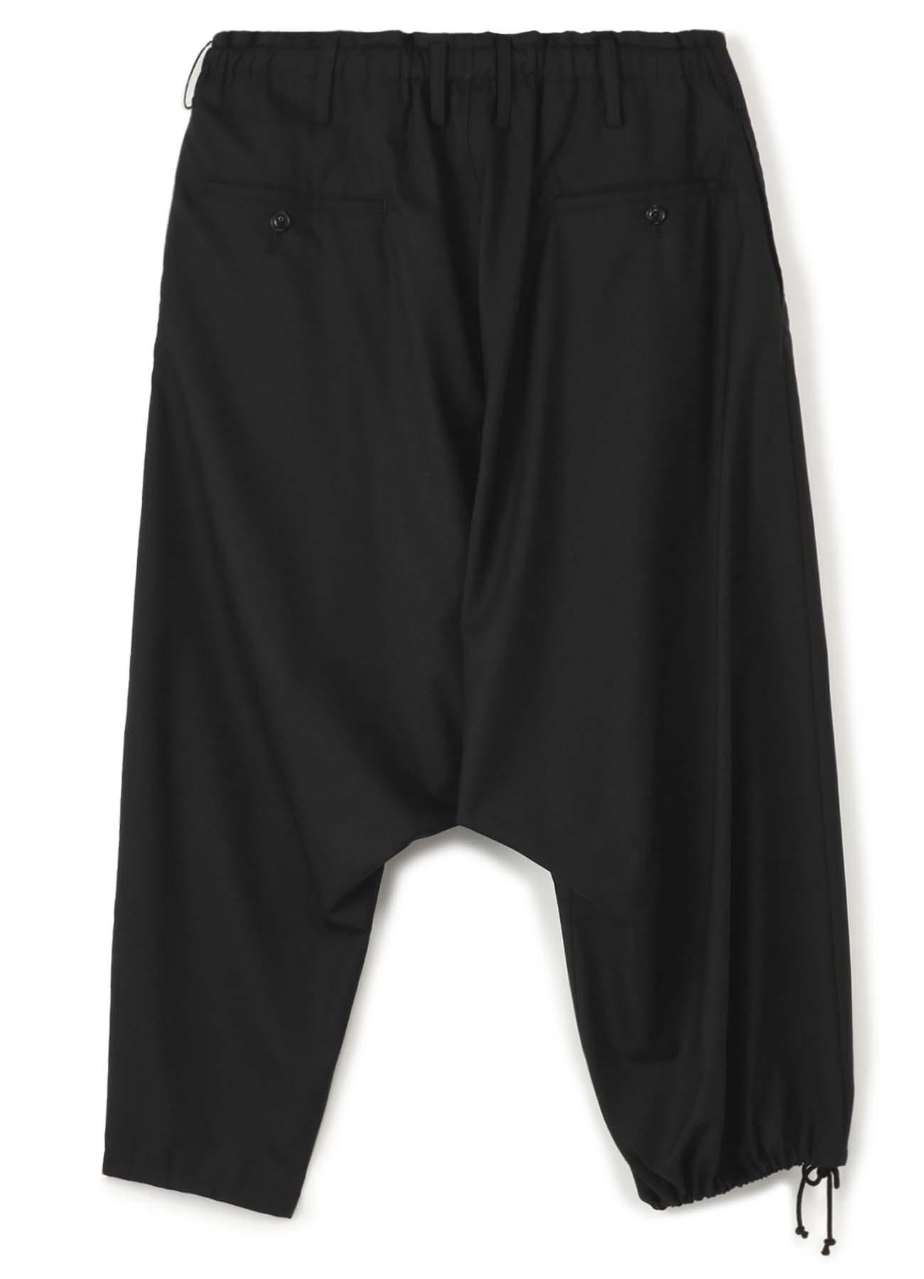 Y's BANG ON!No.97 Pleats sarouel-Pants Wool tropical