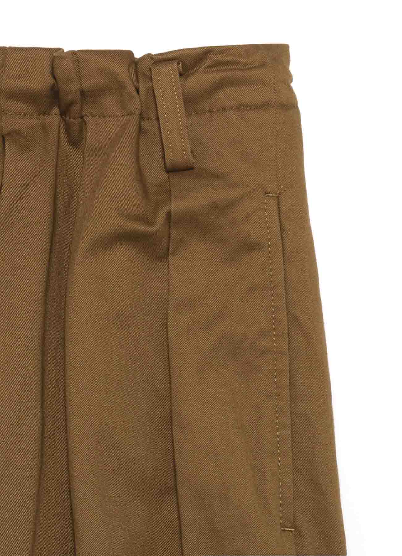 Y's BANG ON!No.98 Side Crow-Pants Stretch twill