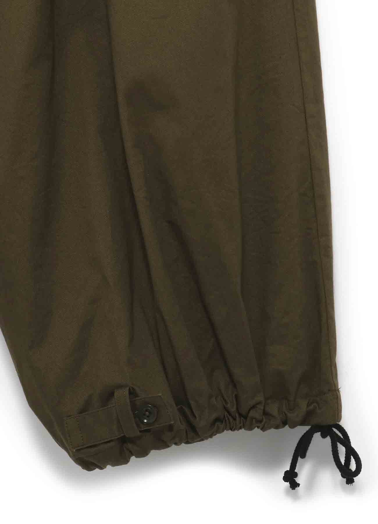 Y's BANG ON!No.98? Side Crow-Pants Stretch twill