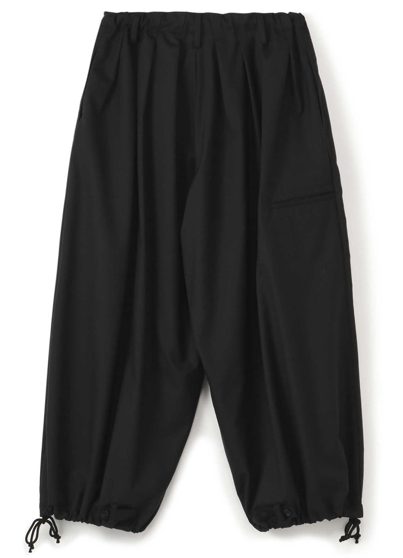 Y''s BANG ON!No.98 Side Crow-Pants Wool tropical