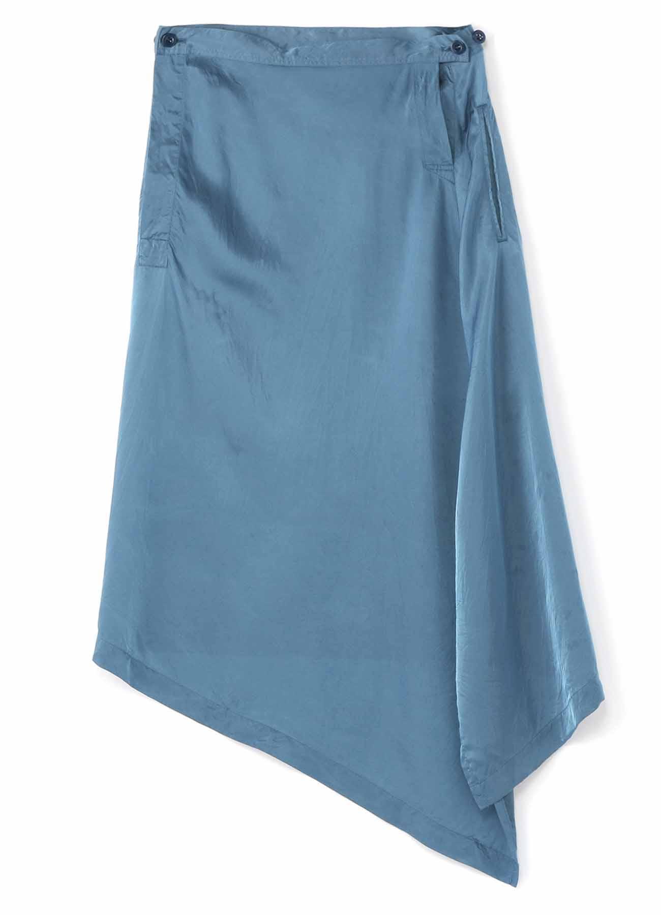 No.13 Flair Skirt Yarn-Dyed Cupra