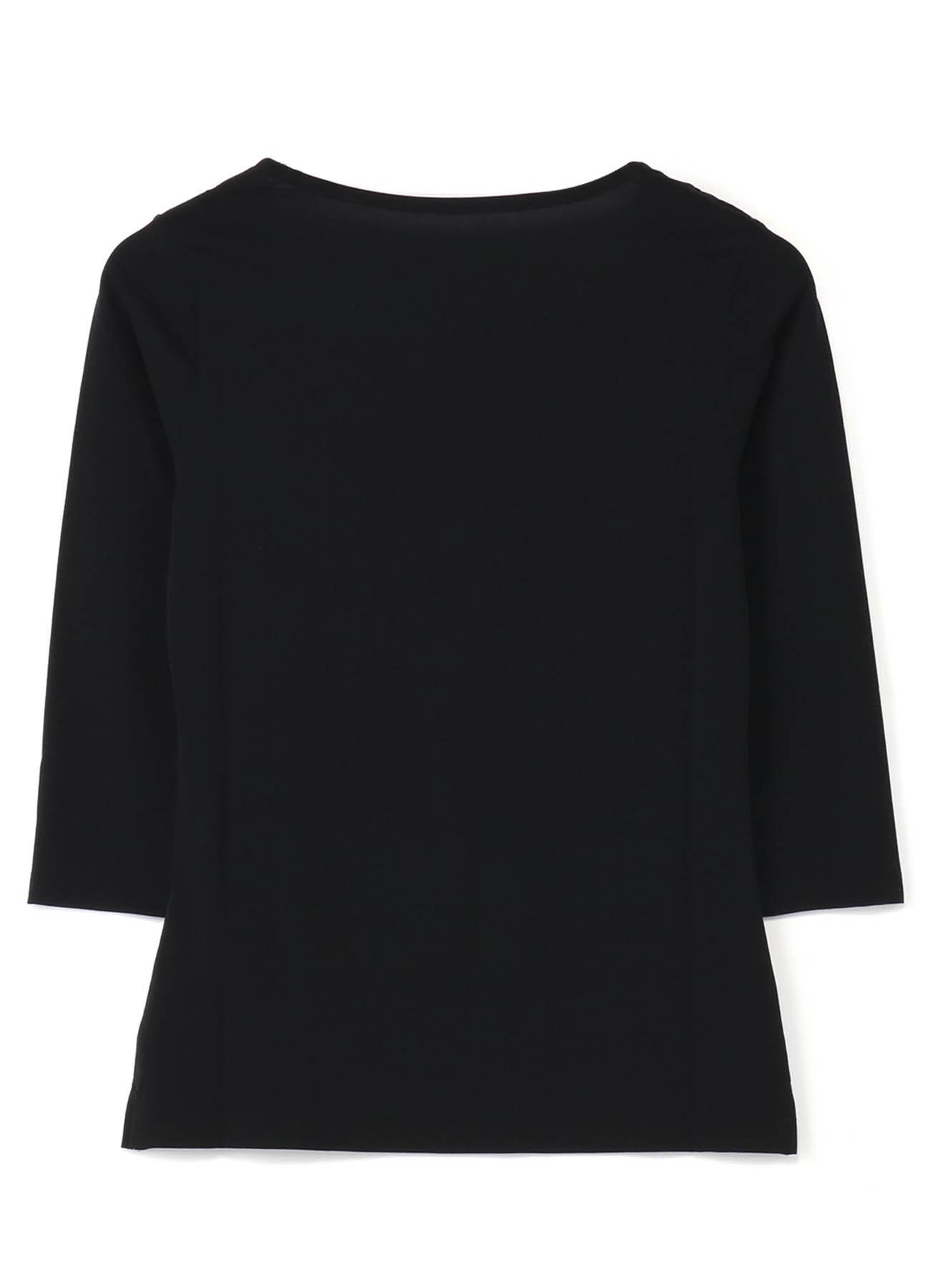 ストレッチ天竺 定番七分袖Tシャツ