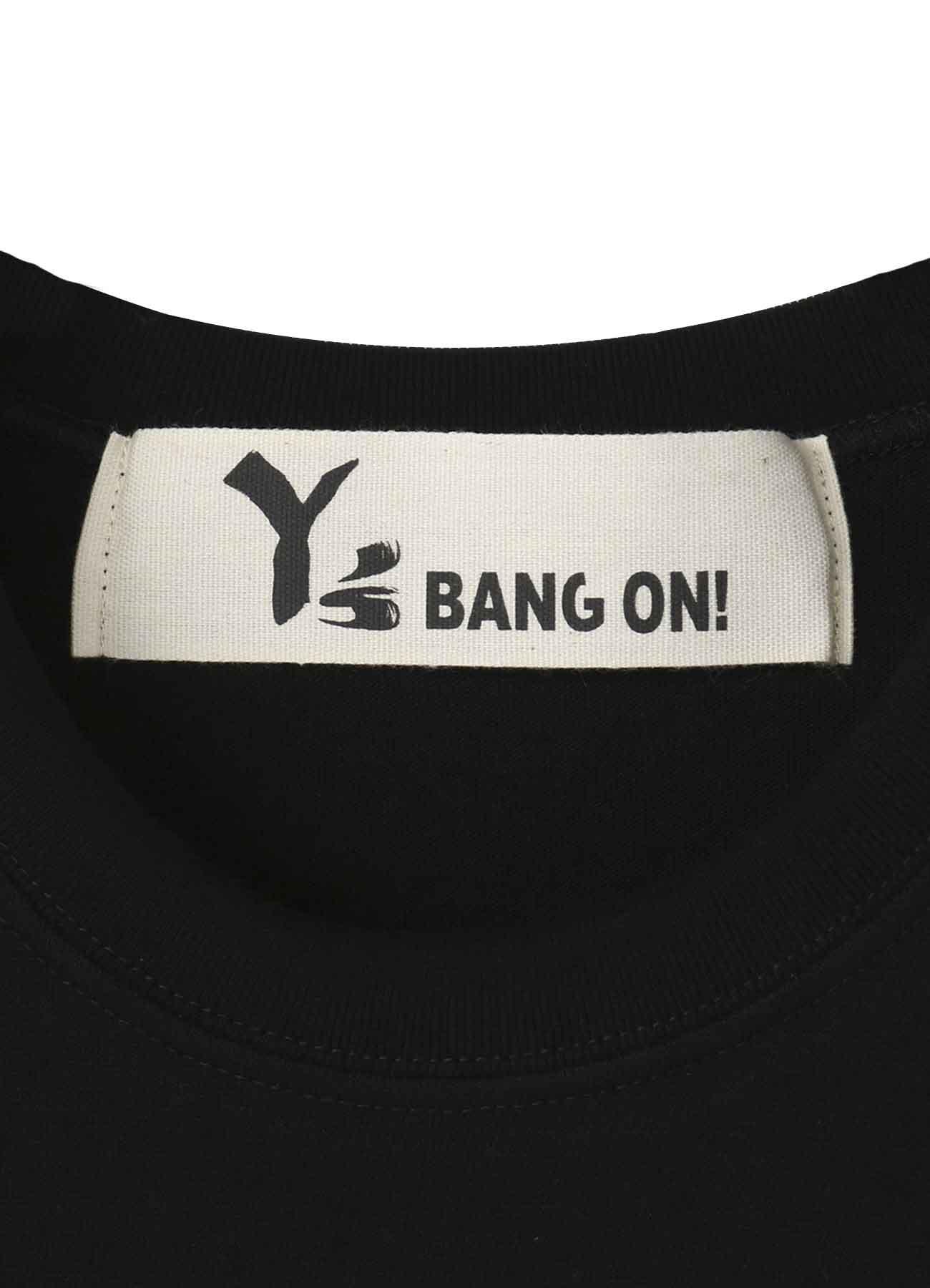 BANG ON!Y'sロゴプリントTシャツ