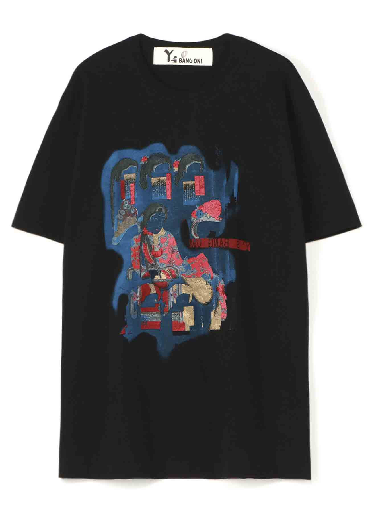 Y's BANG ON!錦絵「髪型」T-shirts B