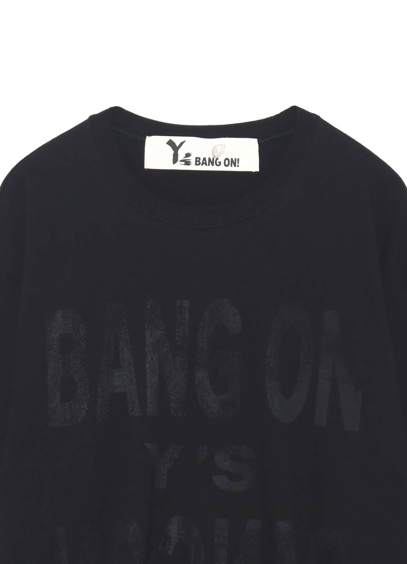 Y's BANG ON! Razor print T-Shirt