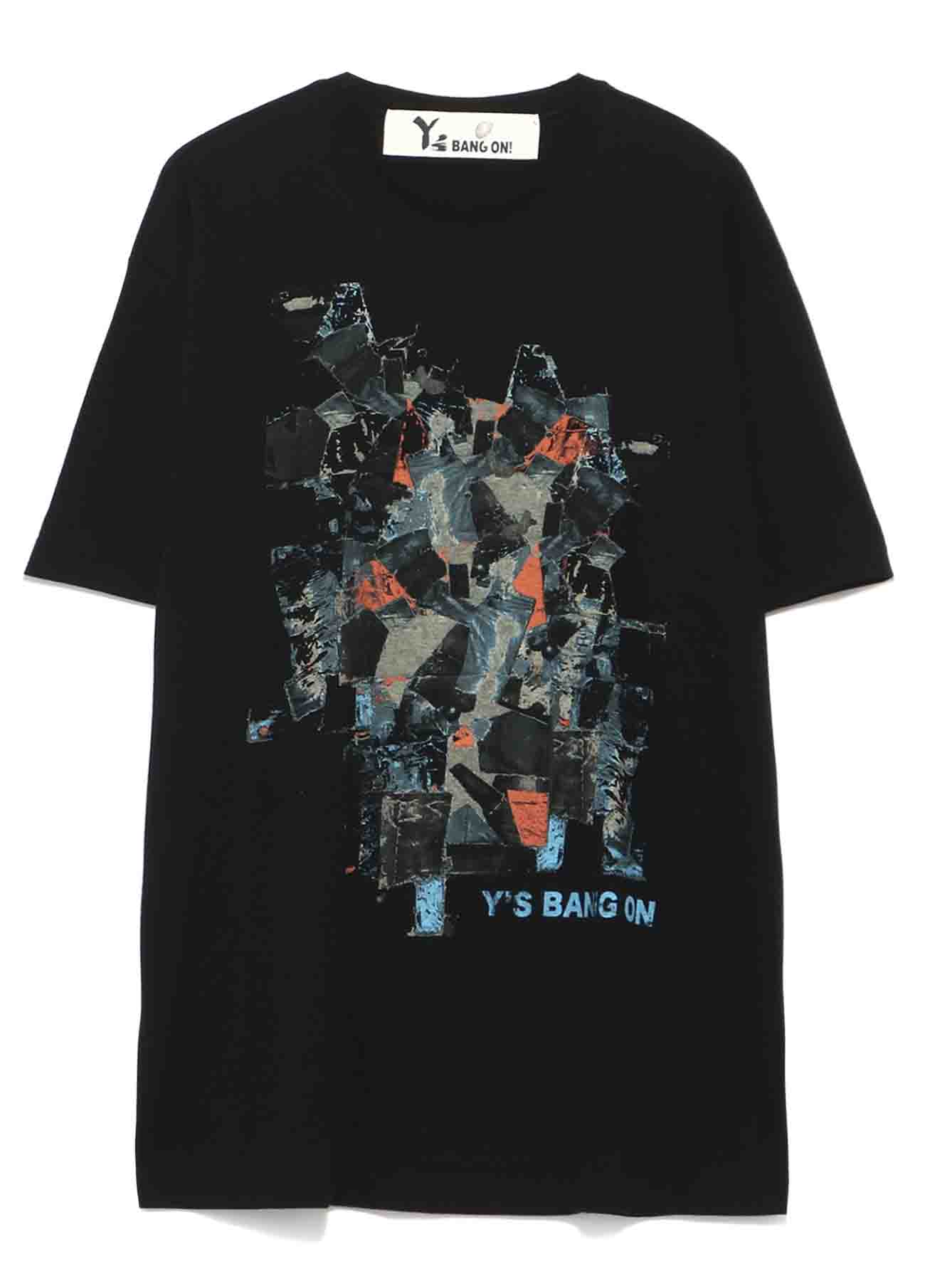 Y's BANG ON!Denim collage T-shirts