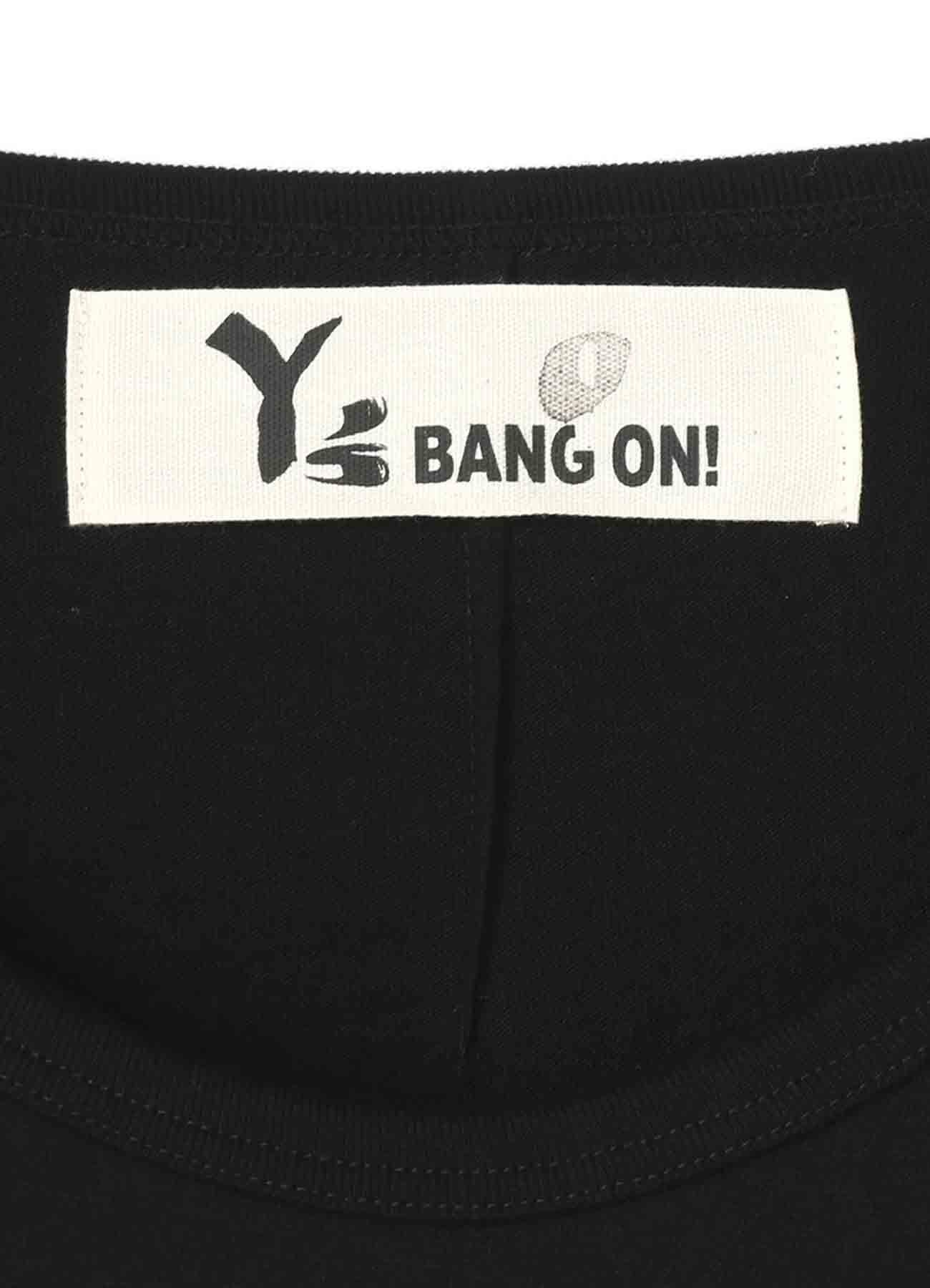 BANG ON! UネックビッグTシャツ